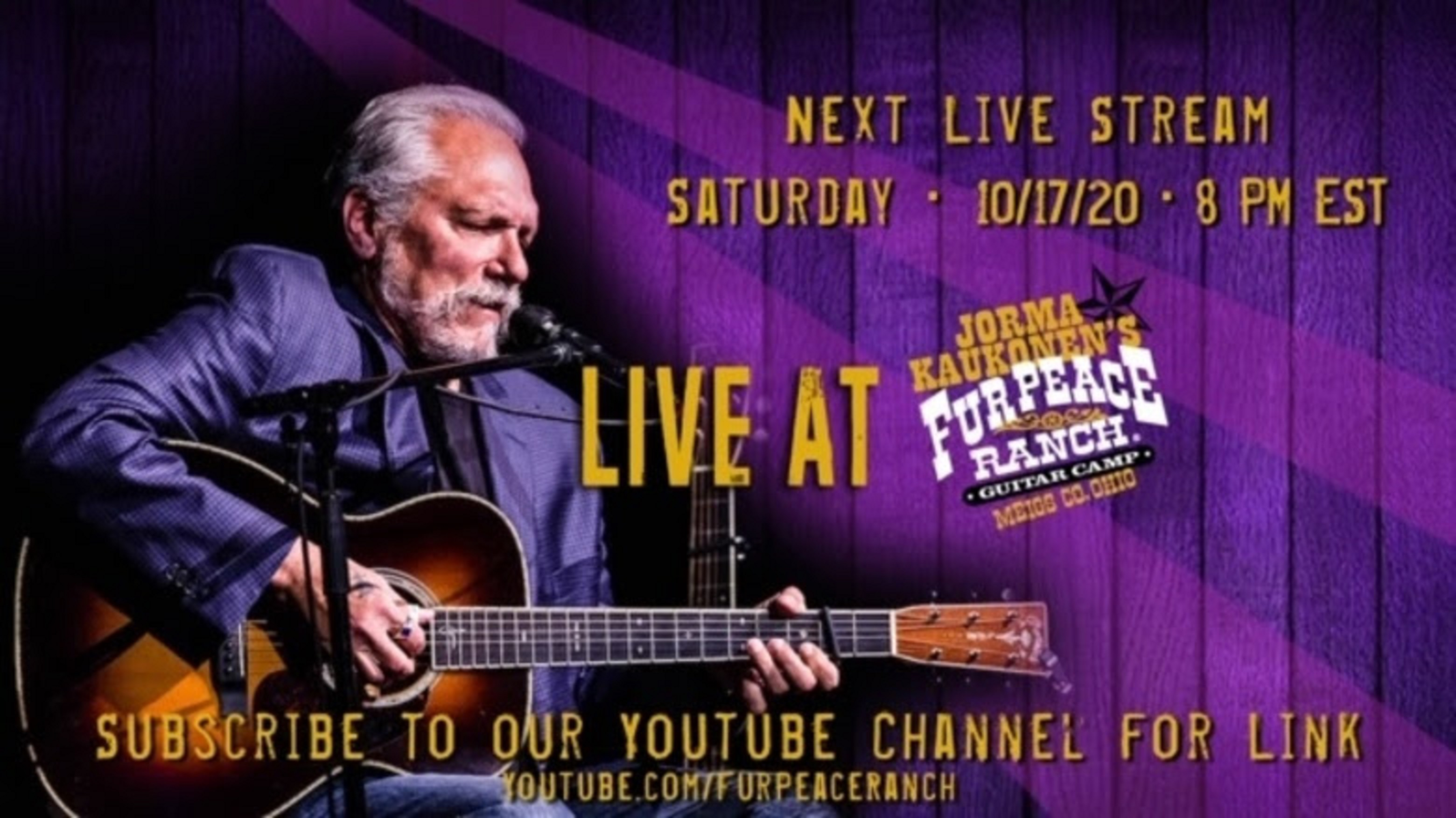 Acoustic Hot Tuna Free Live Stream Saturday Night!