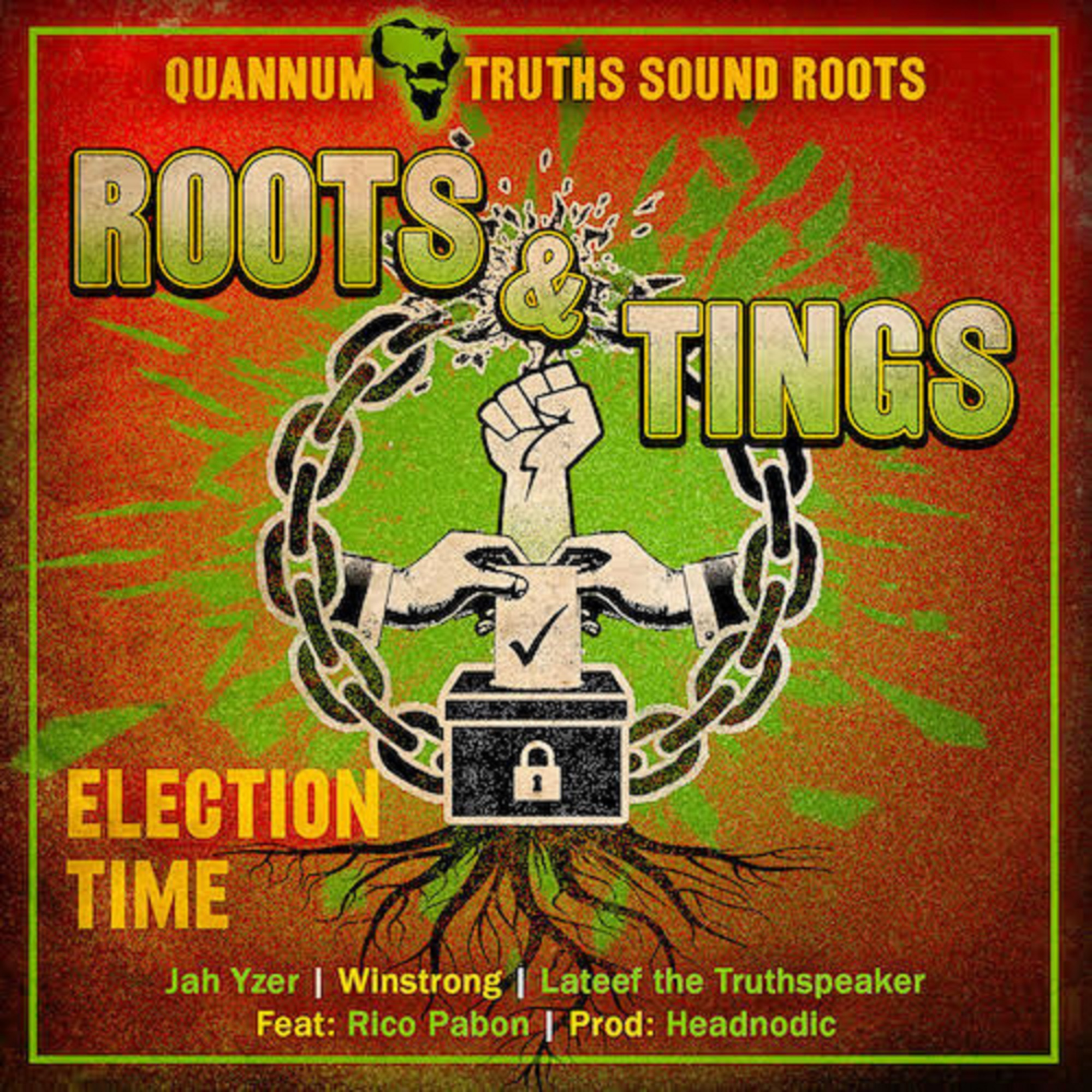 "Roots & Tings Calls To The Masses To Vote In New Single ""Election Time"""