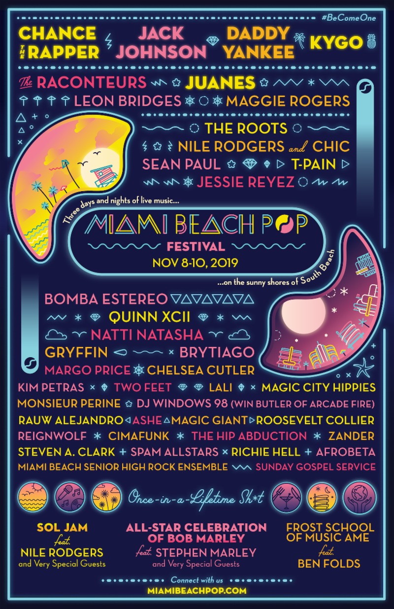 Miami Beach Pop festival announces inaugural lineup