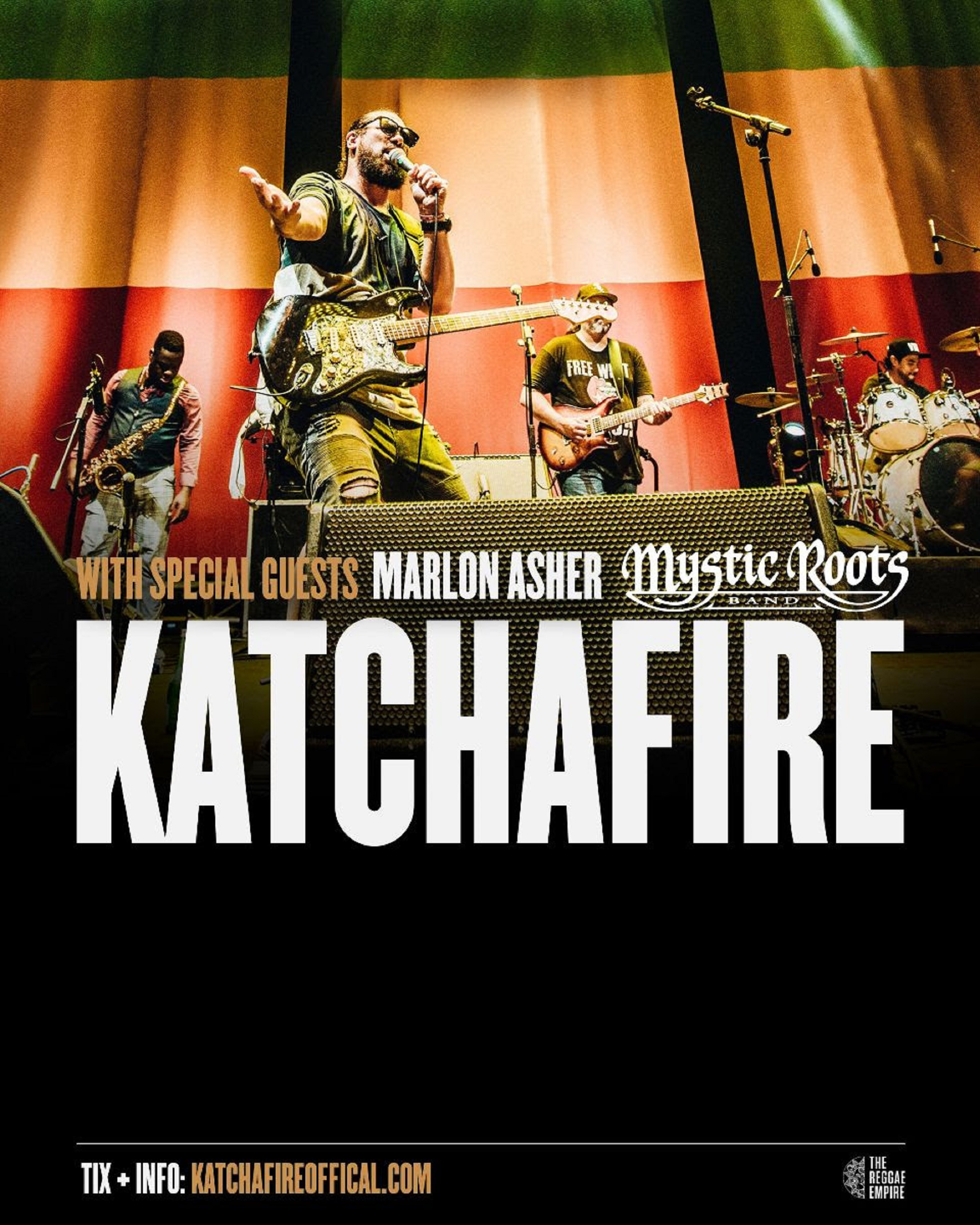 Katchafire Announces U.S. Winter Tour w/ Marlon Asher & Mystic Roots Band!