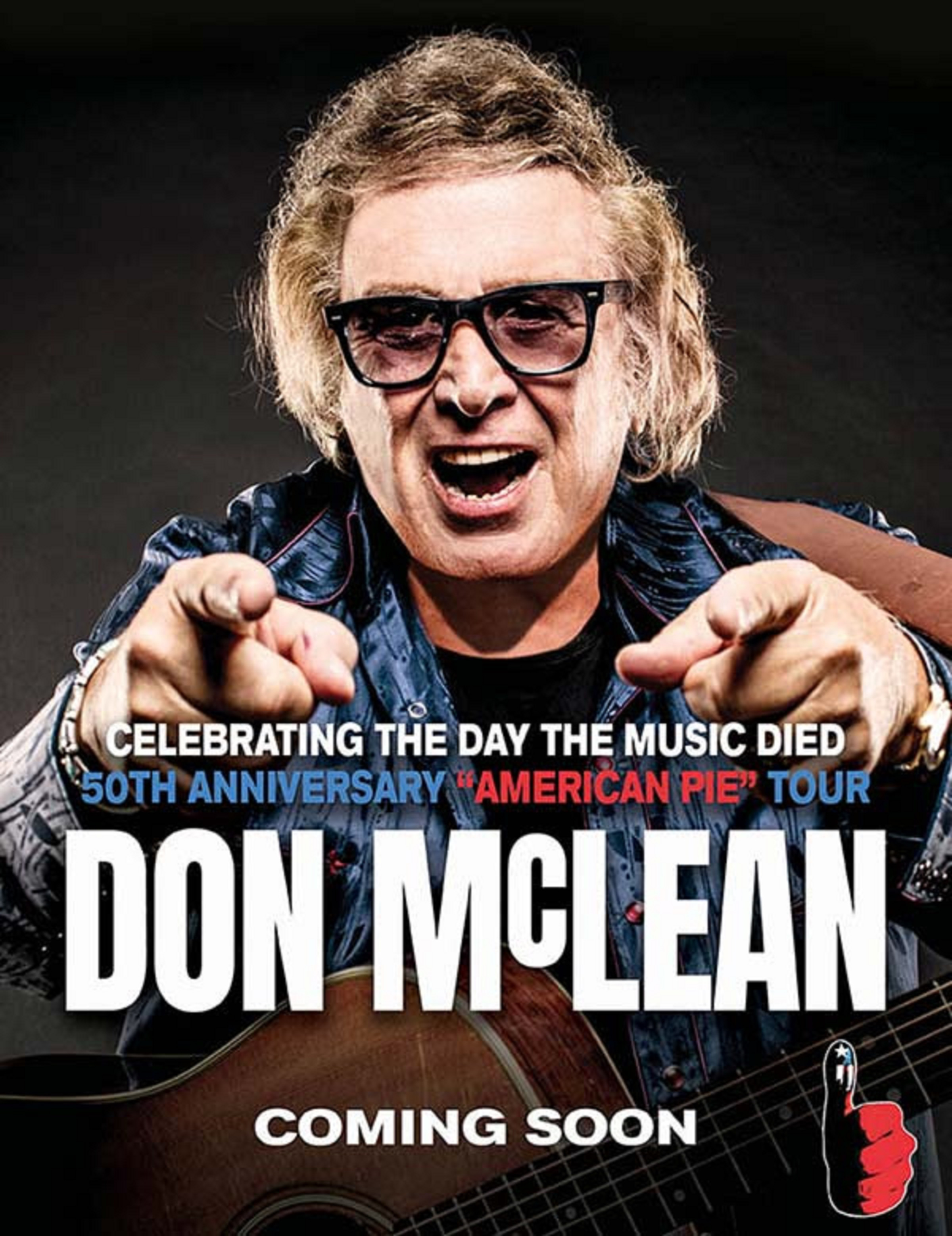 Don McLean Sets Special Concert Event on February 3