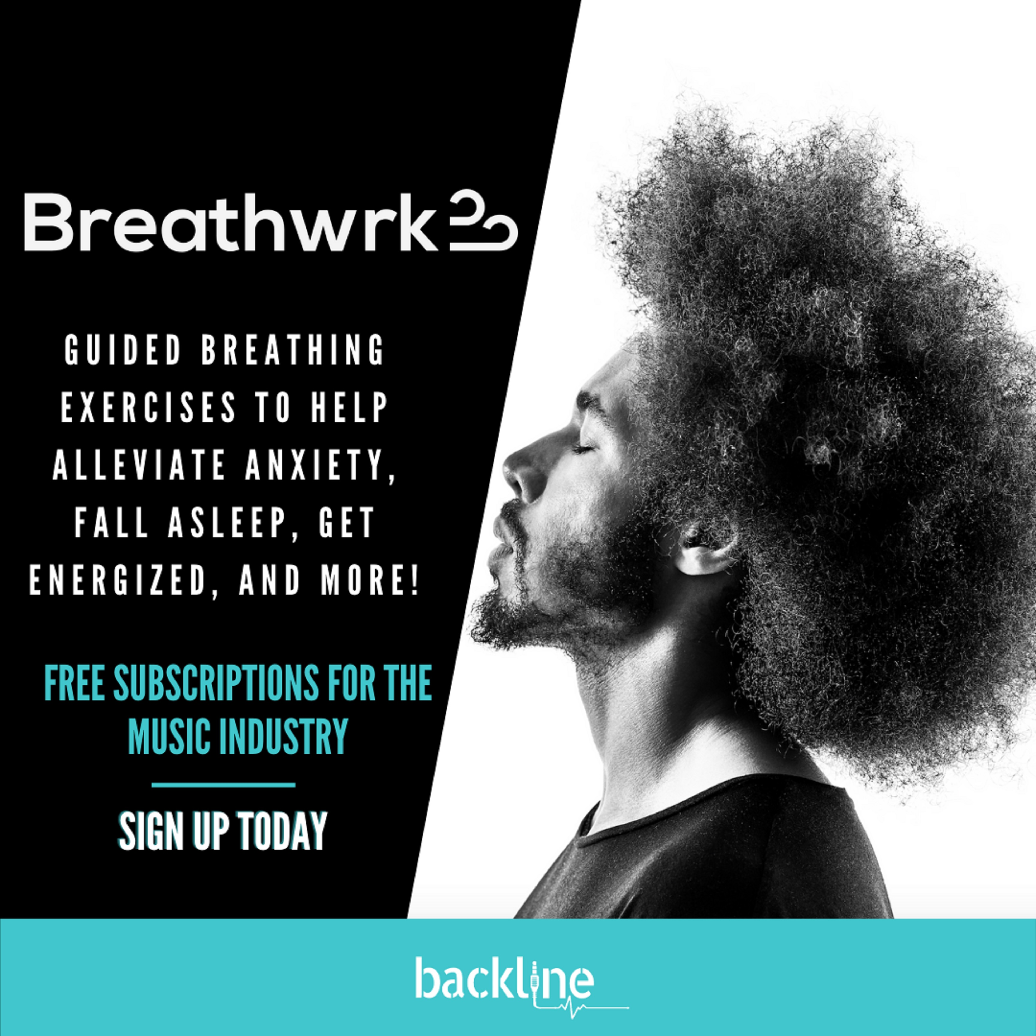 Backline provides free yoga and meditation subscriptions for the music industry