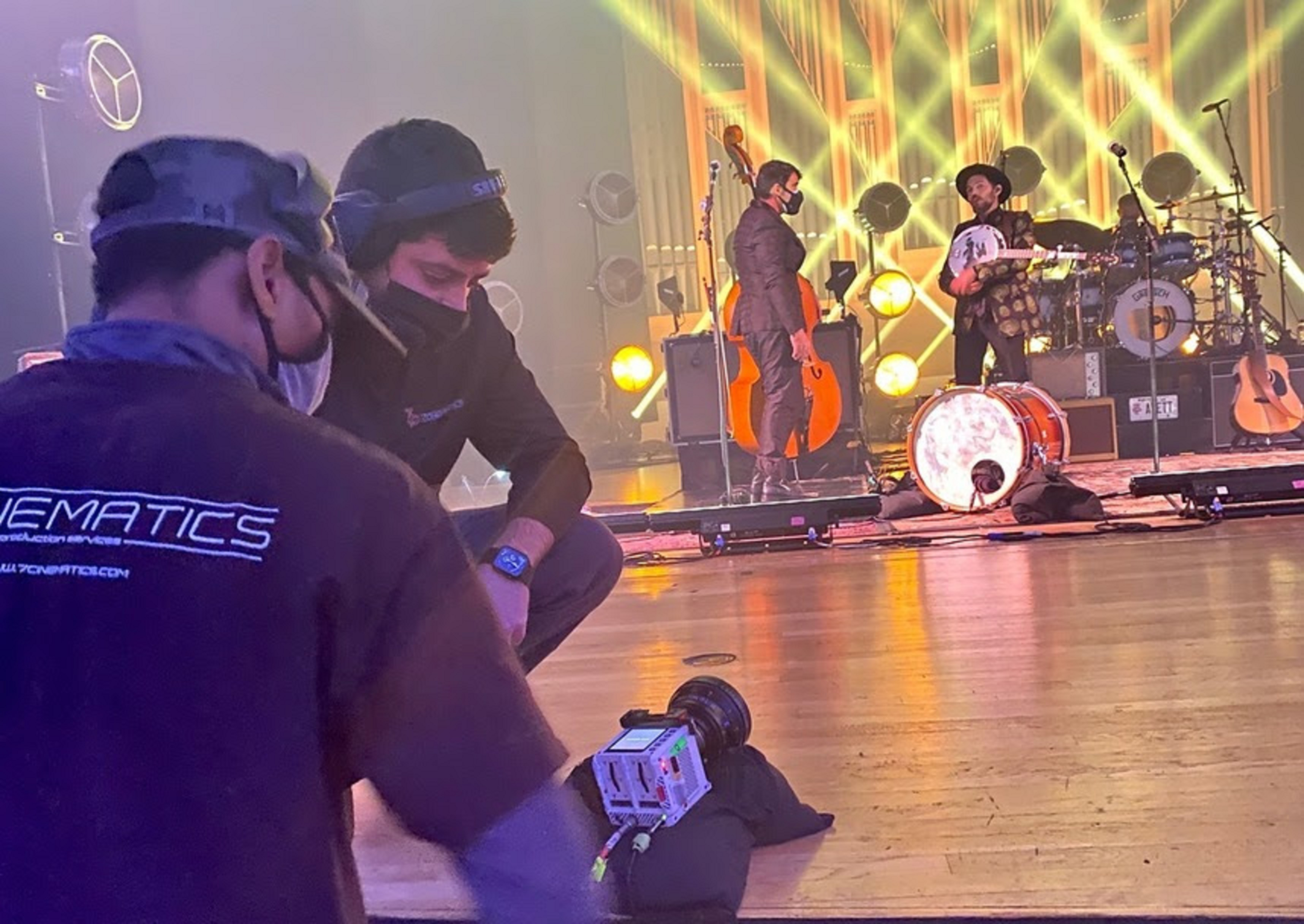 Behind-the-Scenes of The Avett Brothers' Epic New Year's Eve Special