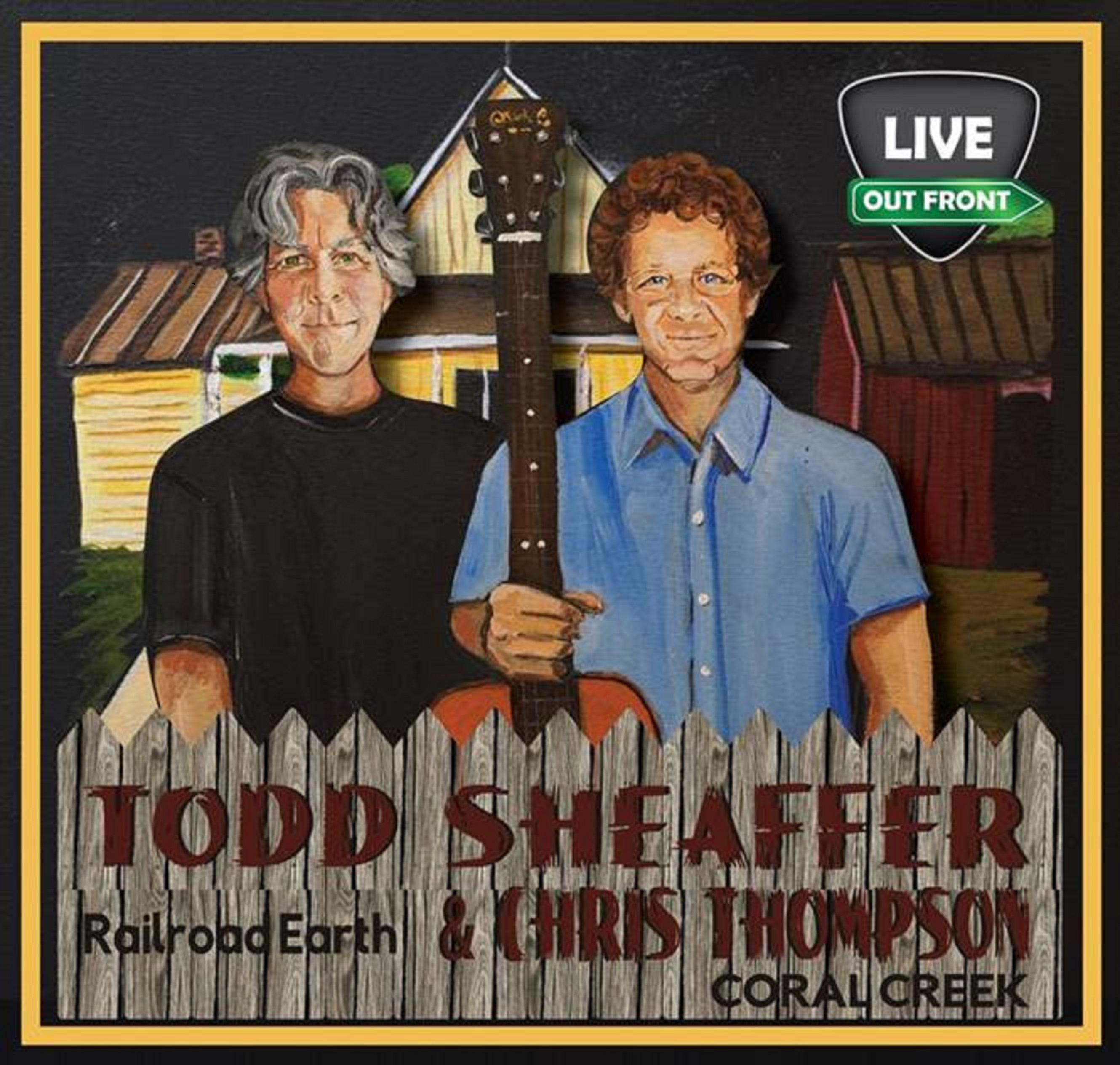 Todd Sheaffer (Railroad Earth) And Chris Thompson (Coral Creek) Announce West Coast Tour April-May 2021