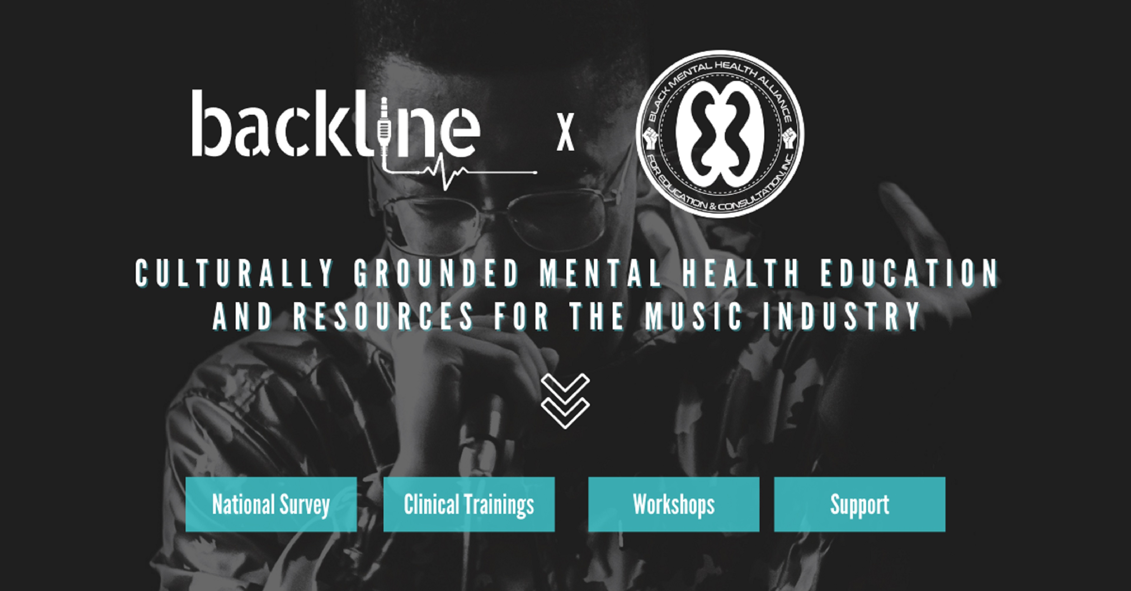 Backline and Black Mental Health Alliance announce partnership and offer resources to serve the music industry