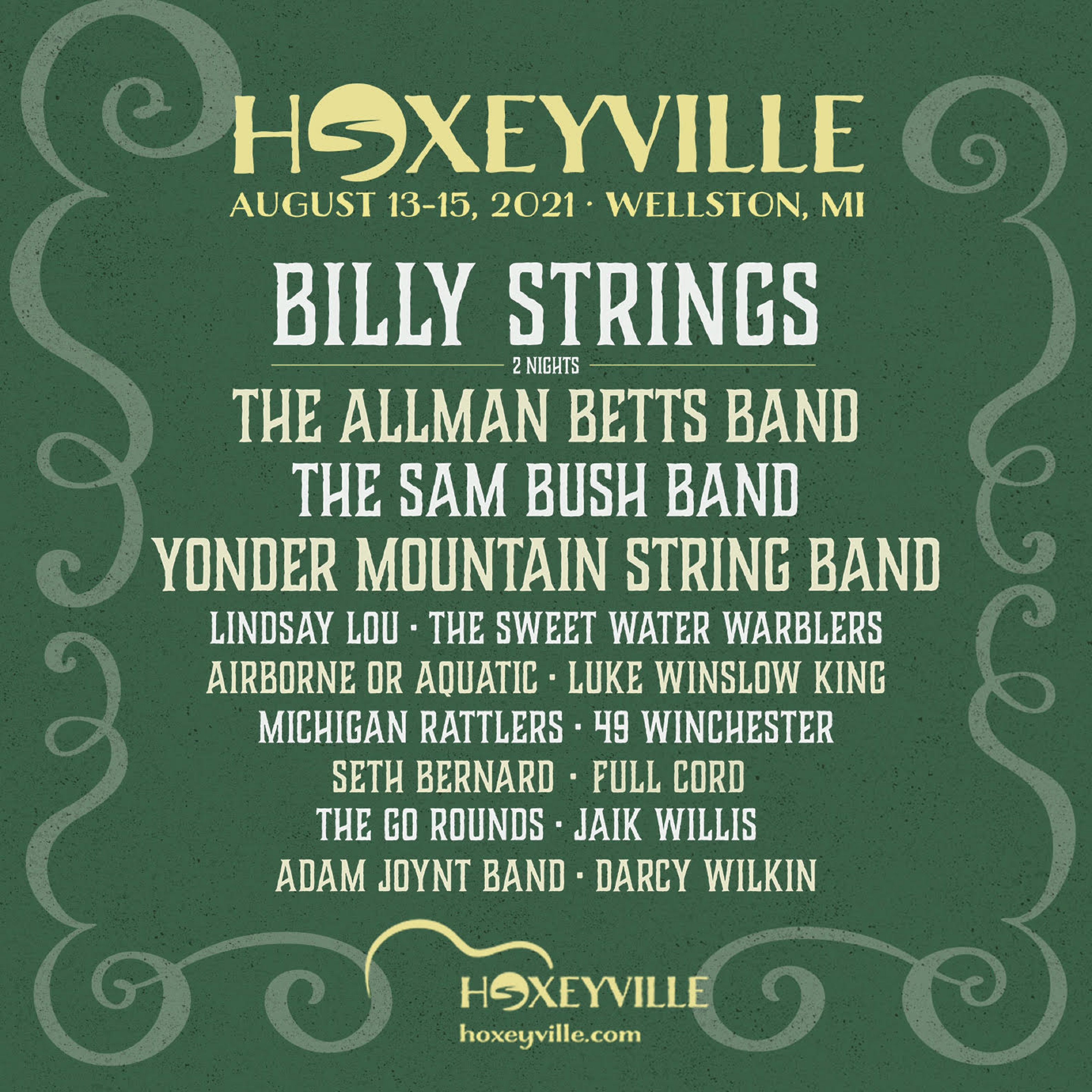 Hoxeyville Music Festival Announces Artist Lineup