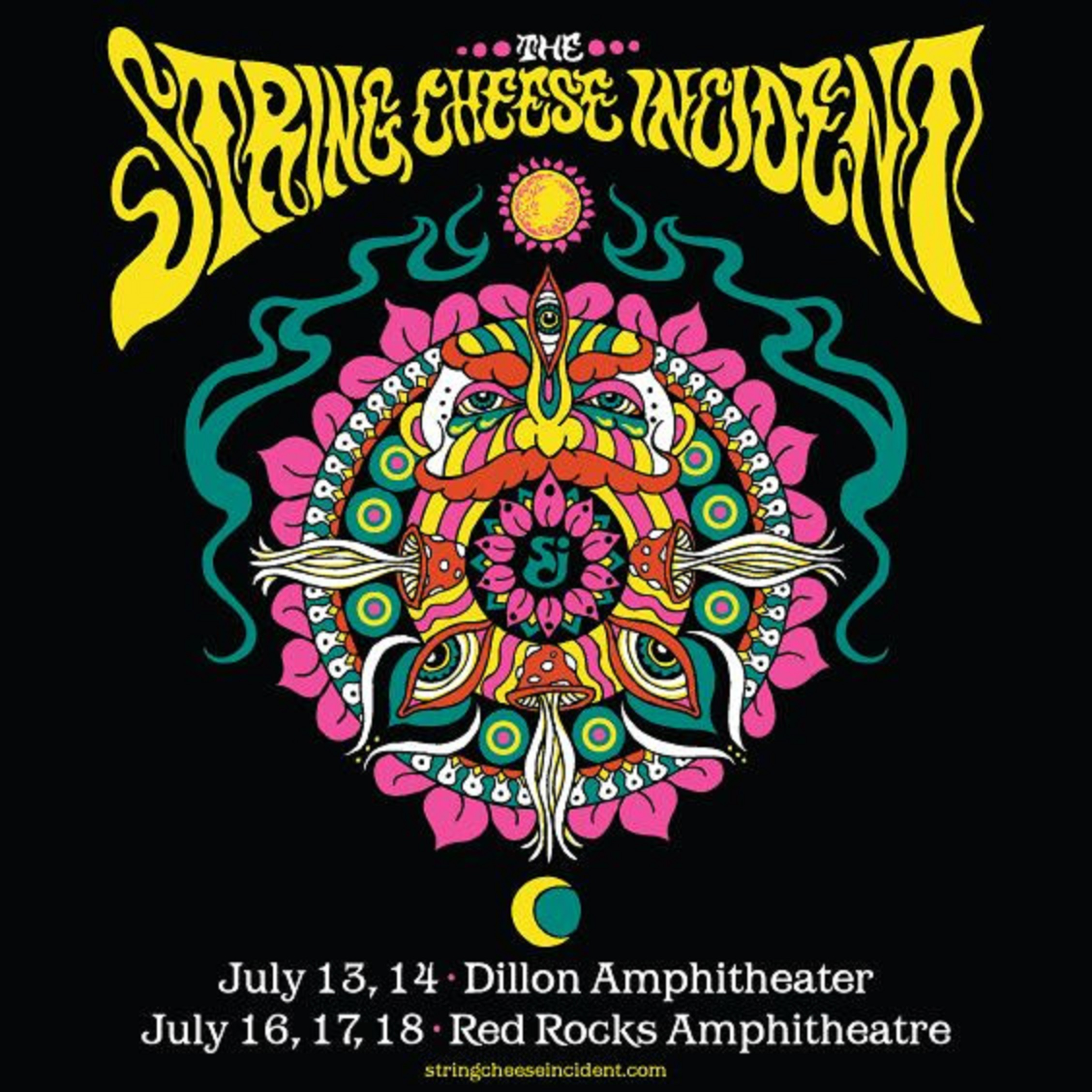 The String Cheese Incident announces 5-night Colorado run