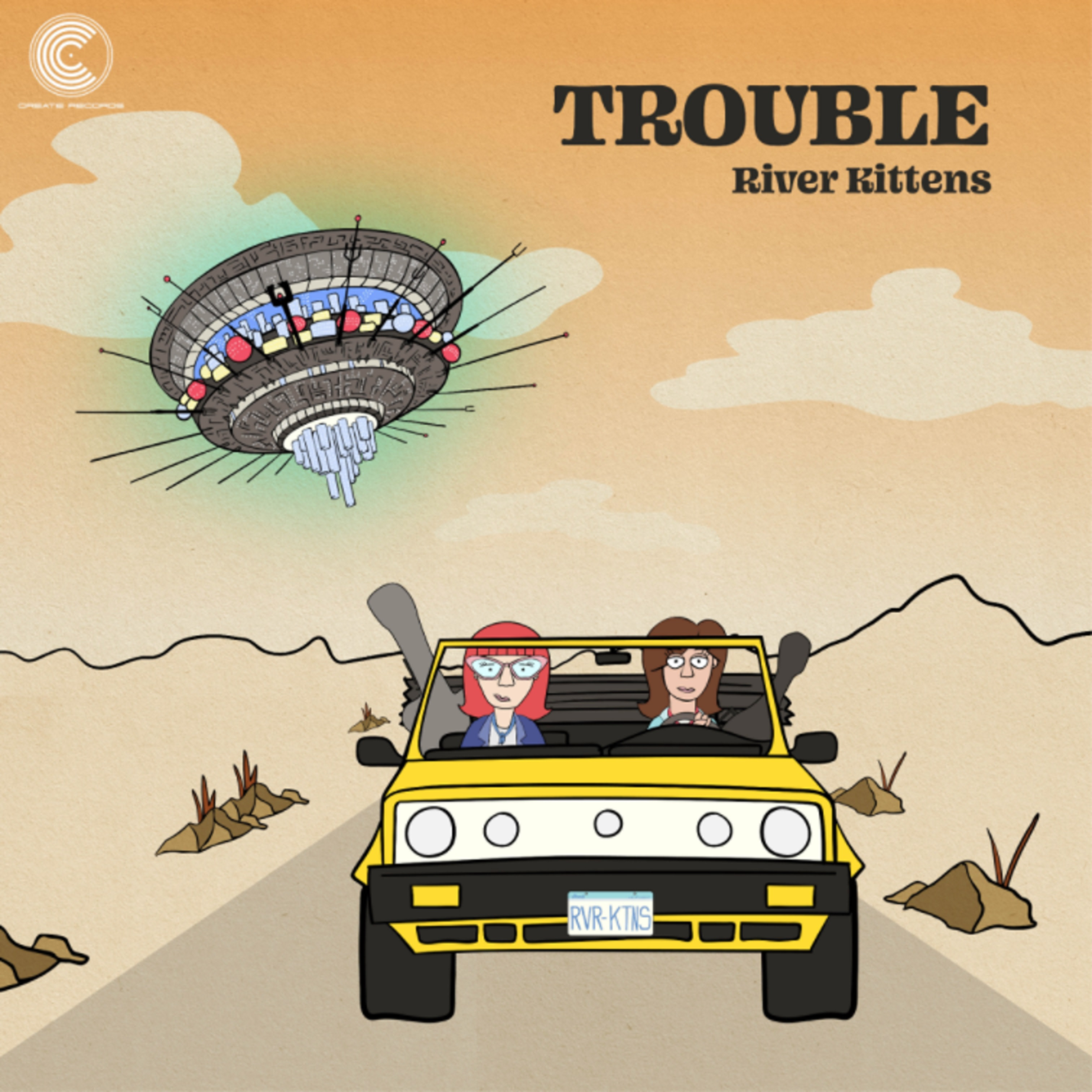 "River Kittens new song ""Trouble"" out now"