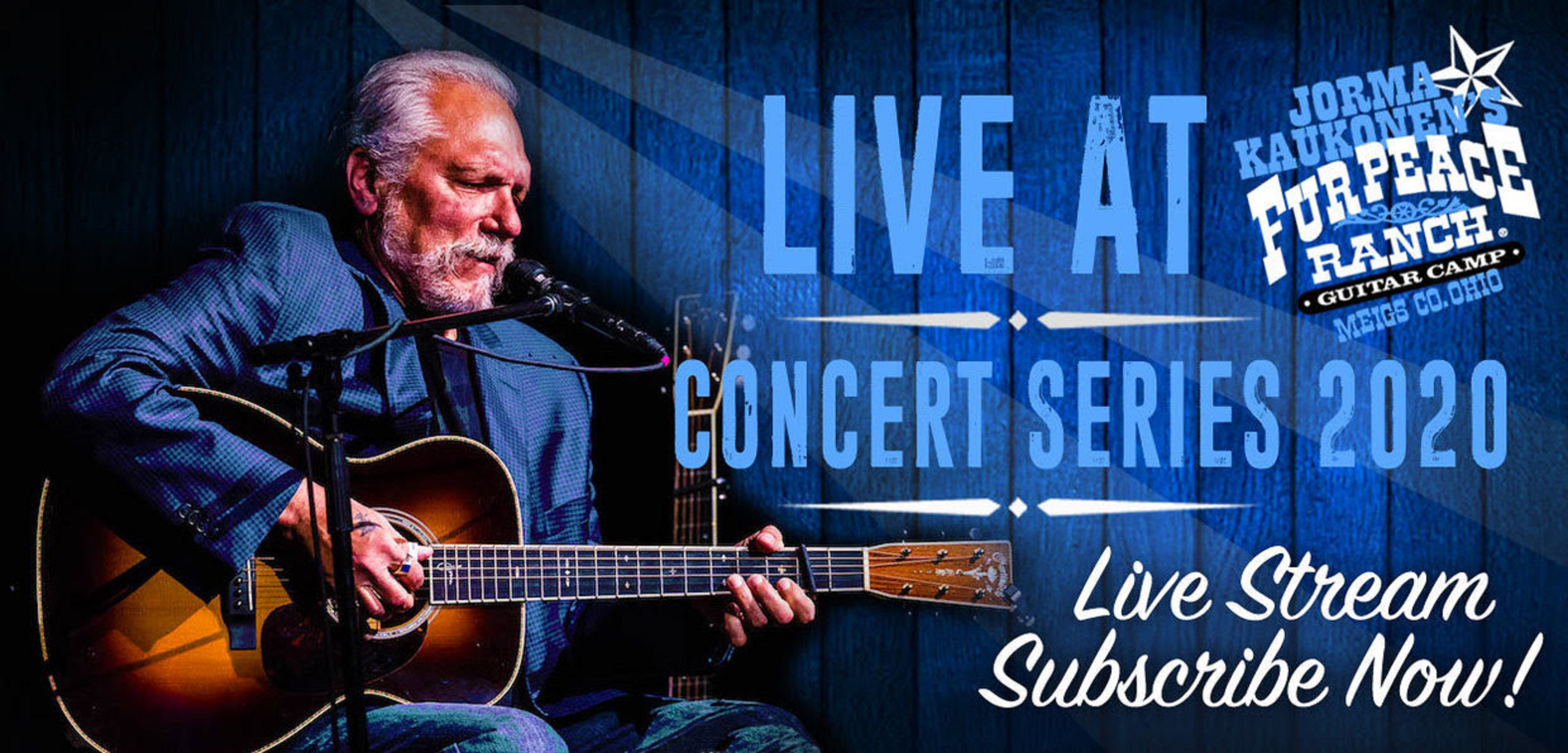 Jorma Kaukonen's 10th Free Live Stream rings clear and clean!