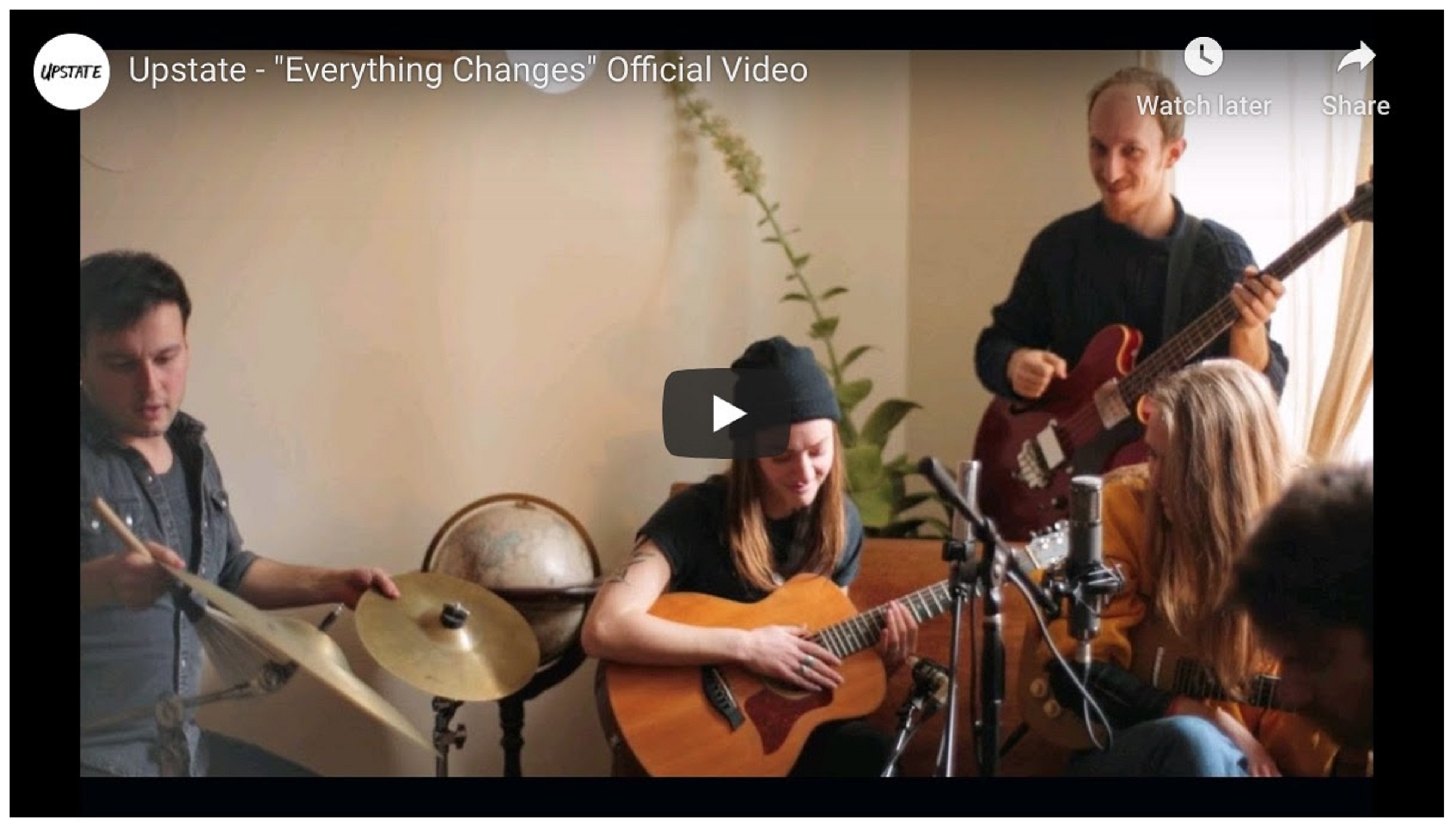 "UPSTATE Release New Song & Video ""EVERYTHING CHANGES"""
