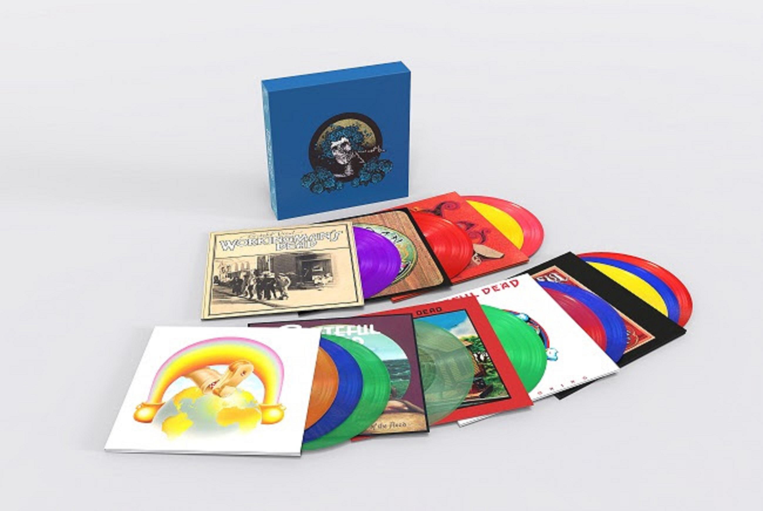 Grateful Dead Announce 14-LP AUDIOPHILE VINYL BOXED SET