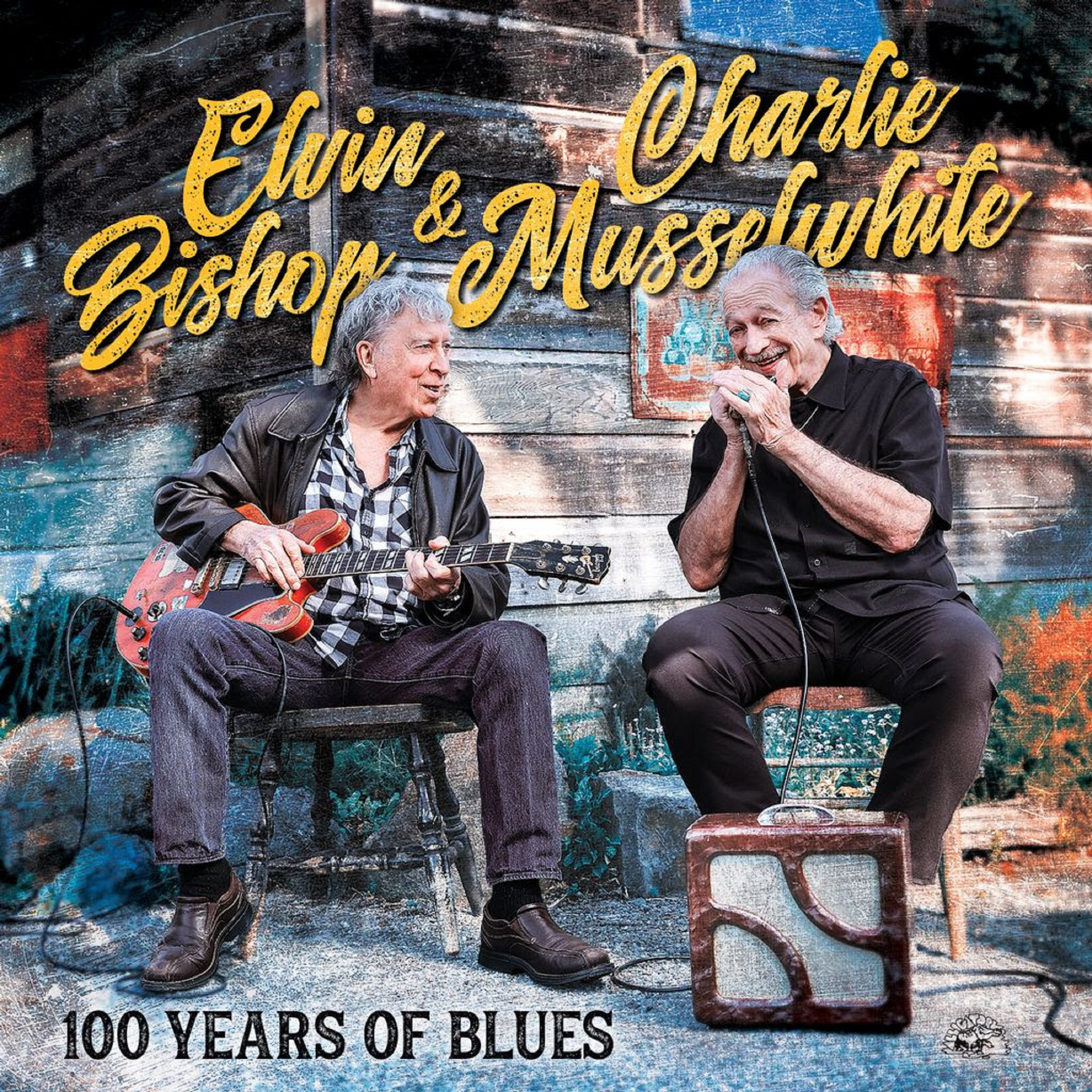 Elvin Bishop & Charlie Musselwhite New Album 100 YEARS OF BLUES
