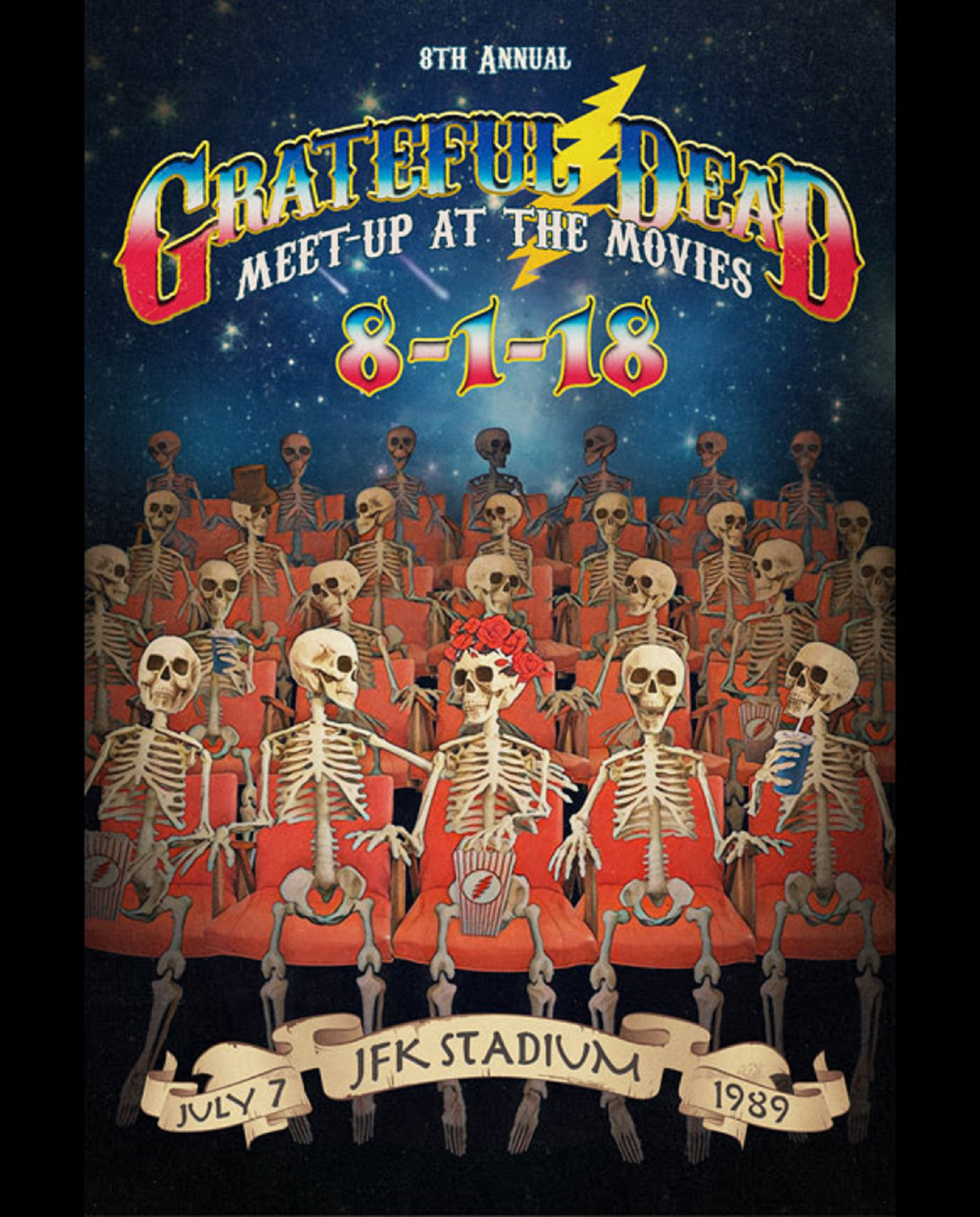 THE 8TH ANNUAL GRATEFUL DEAD MEET-UP AT THE MOVIES