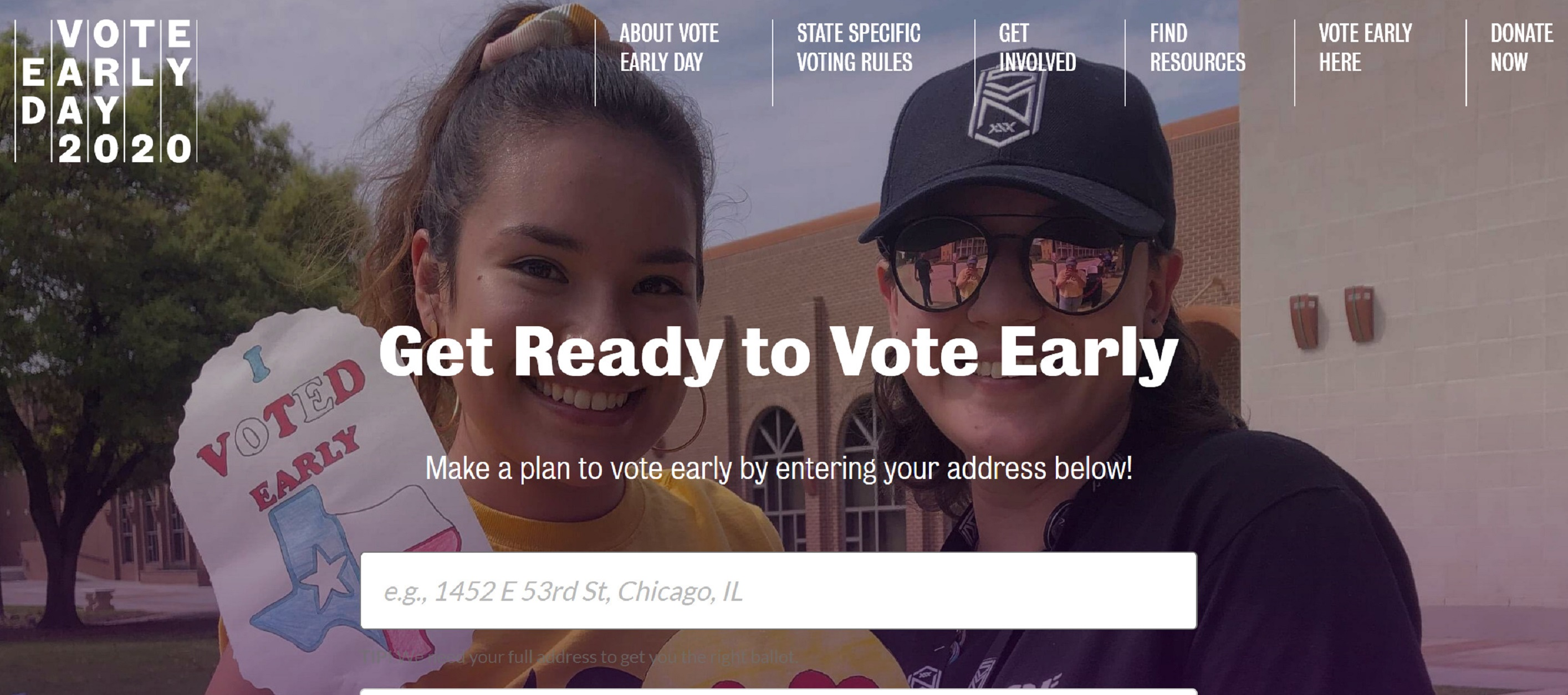 How to Vote Early!