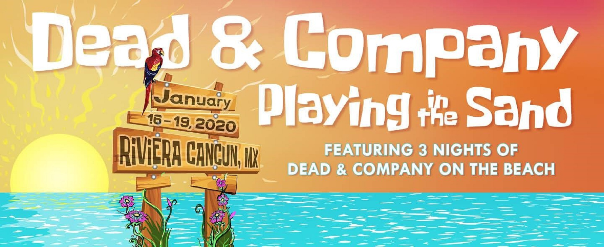 Dead & Company Announce 3rd Annual 'Playing in the Sand'