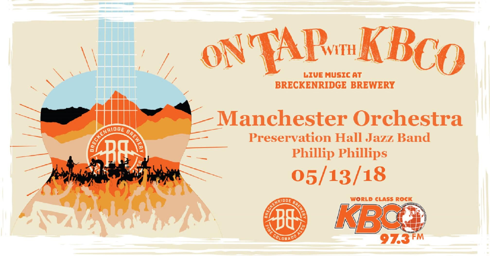 KBCO Announces On Tap with KBCO Live Music At Breckenridge Brewery