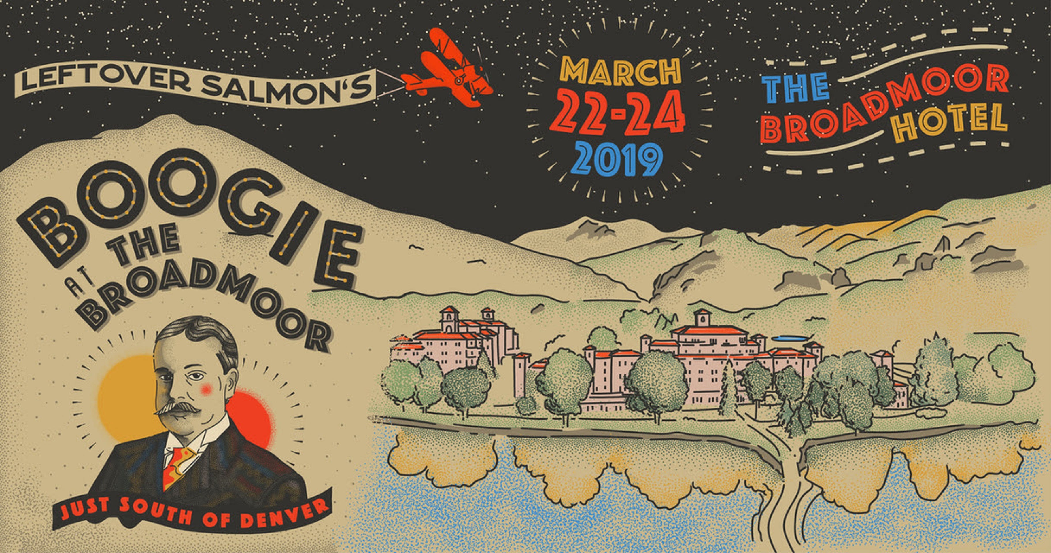 Announcing Leftover Salmon's Boogie At The Broadmoor