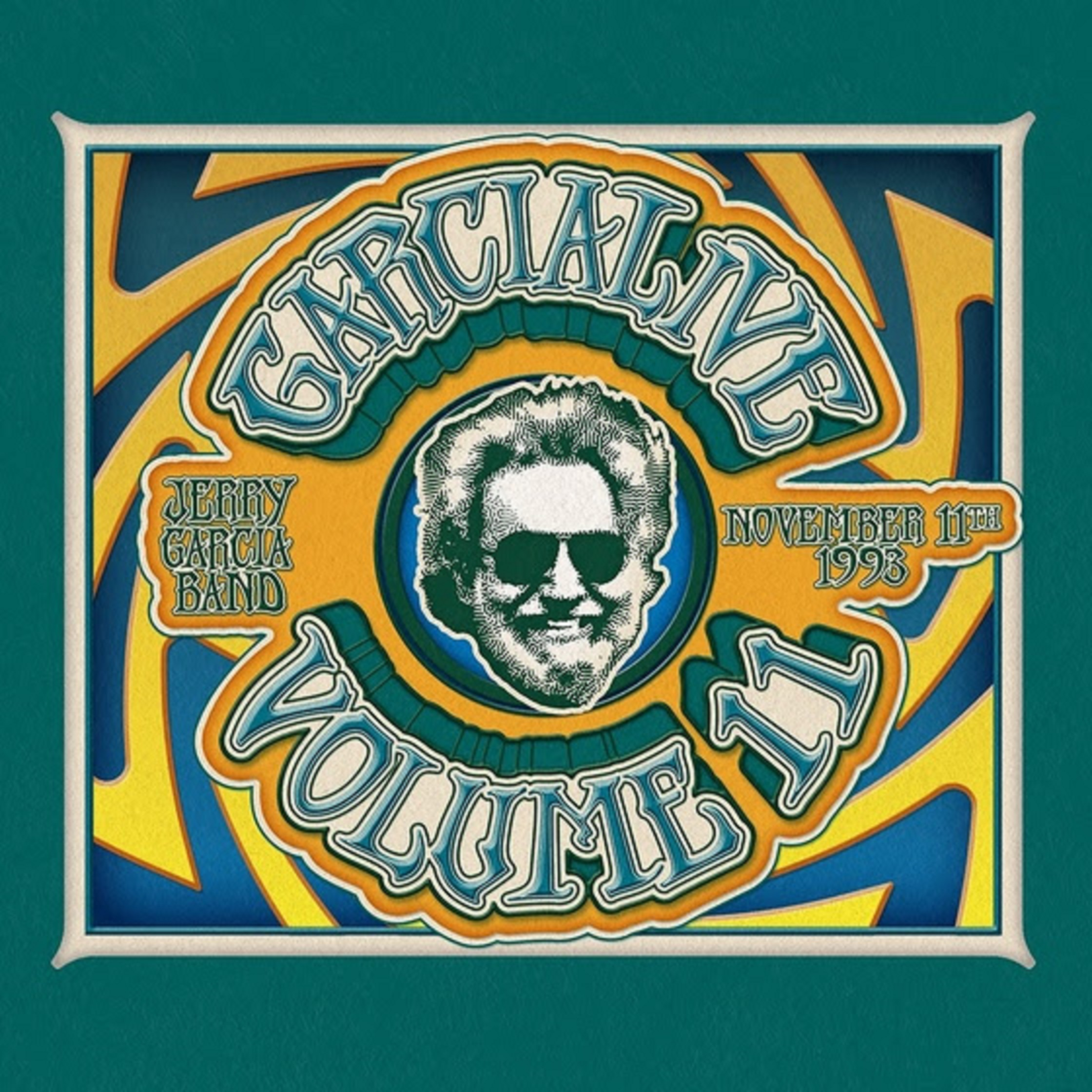 "Jerry Garcia Band Featured On ""GarciaLive Volume 11, November 11th, 1993, Providence Civic Center"" - Out July 12"