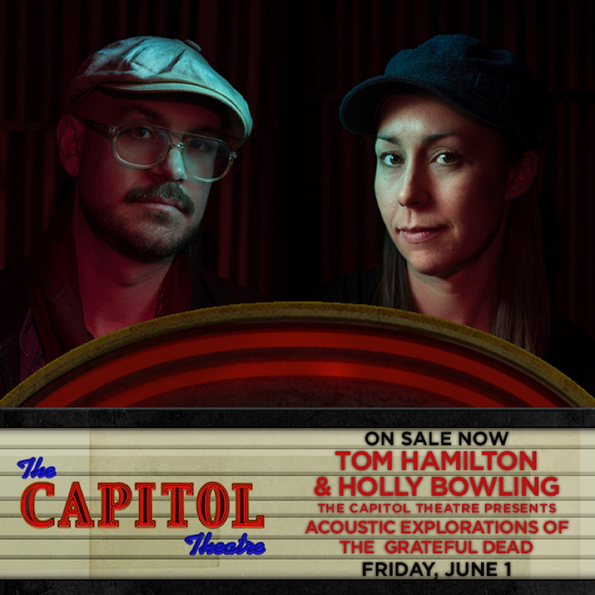 Tom Hamilton and Holly Bowling to perform Acoustic Explorations of The Grateful Dead