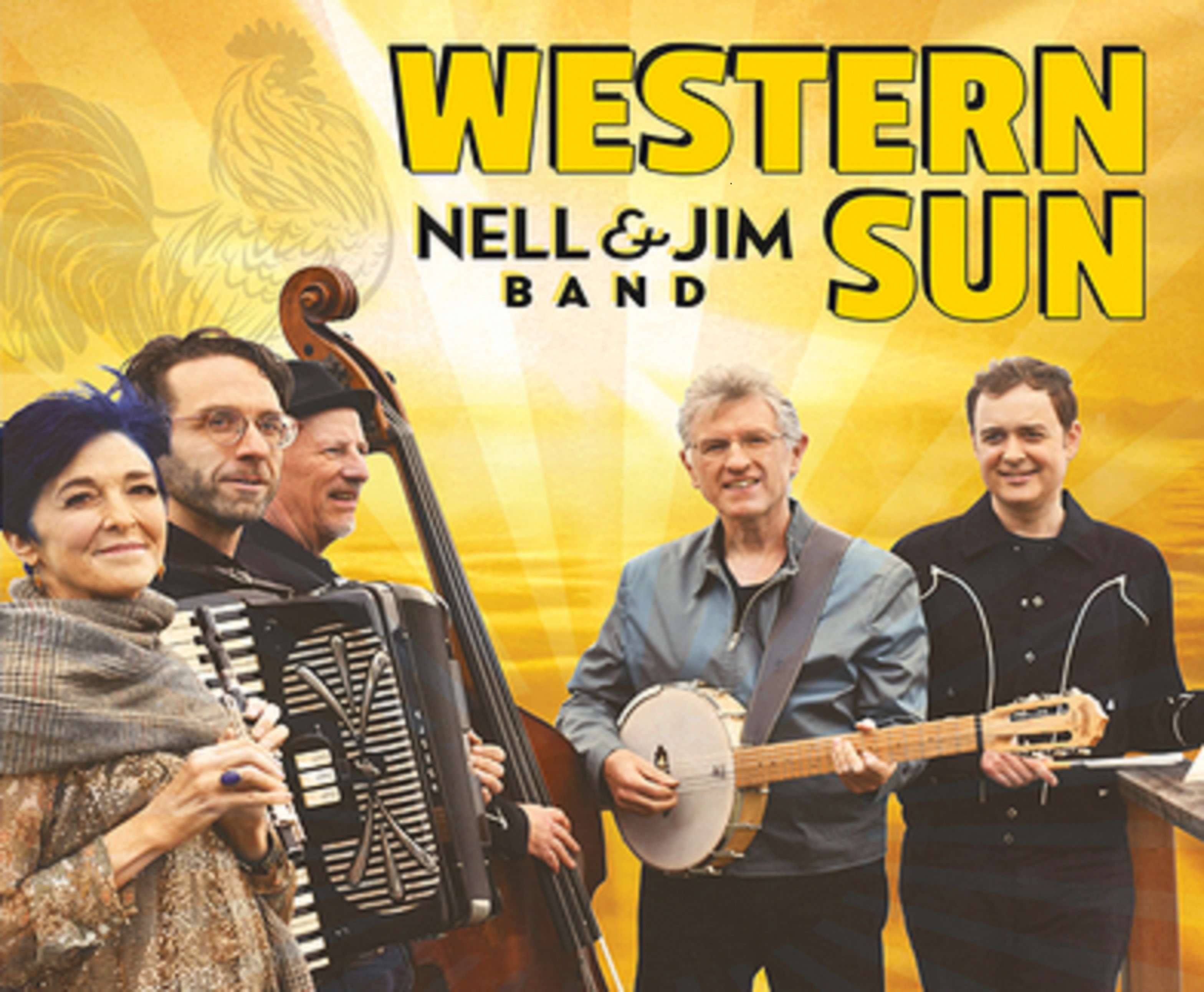 Nell & Jim Band To Release New Album Western Sun On May 29th