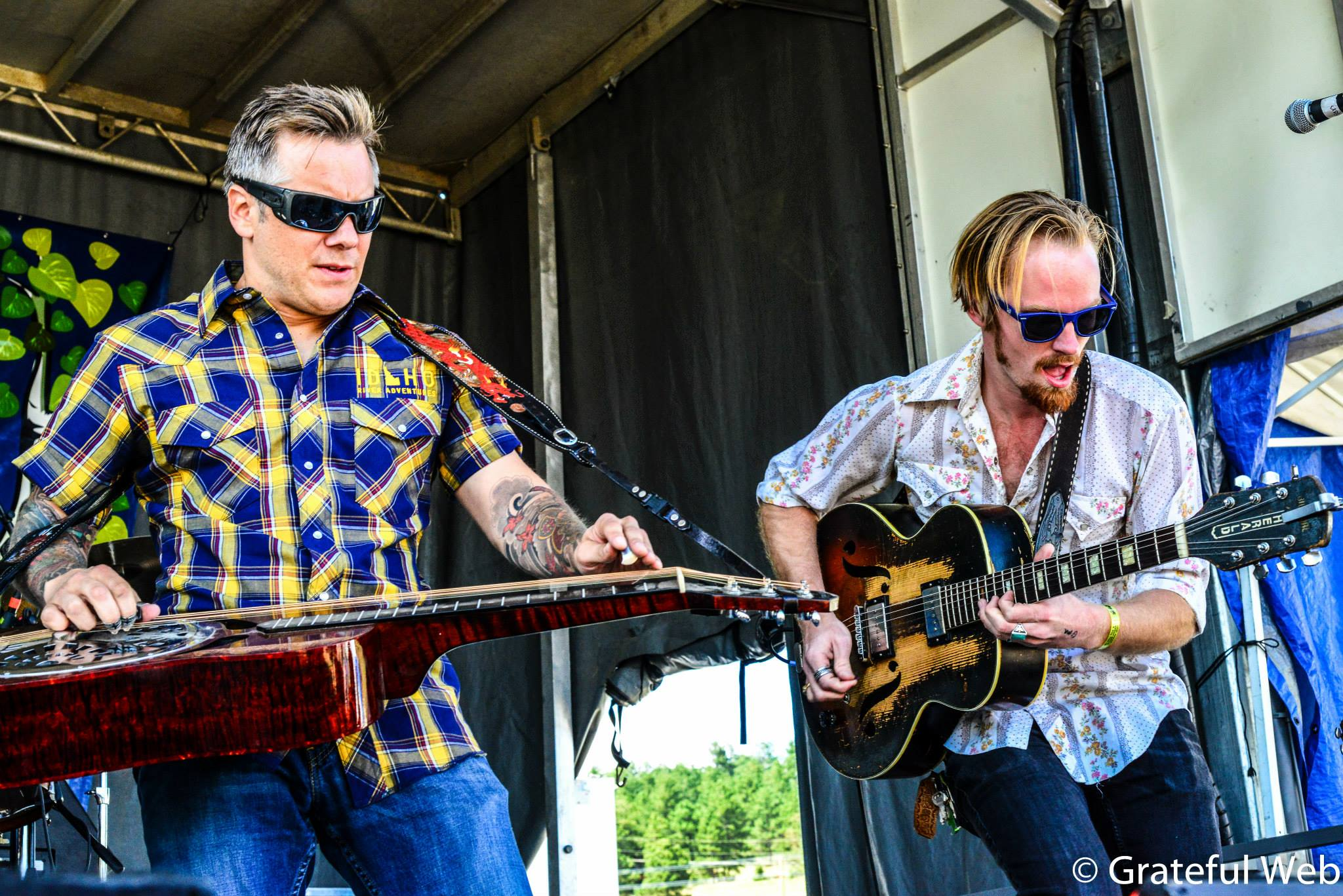 Andy Hall (Infamous Stringdusters) with Jay Cobb Anderson| NedFest | Nederland, CO