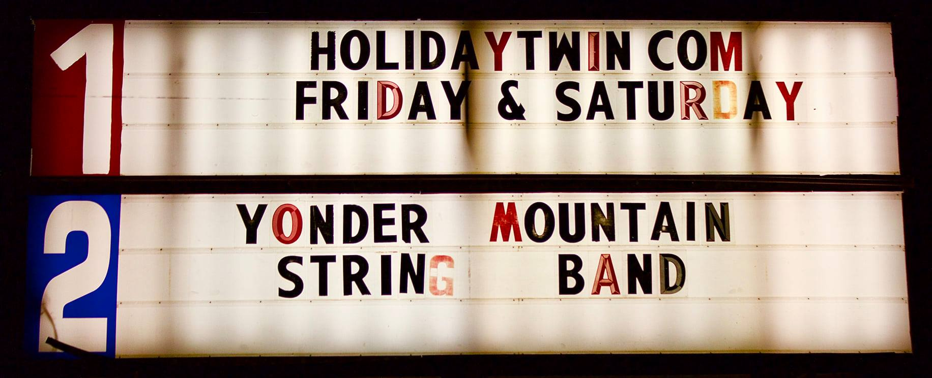 YMSB | Holiday Twin Drive-In Theater