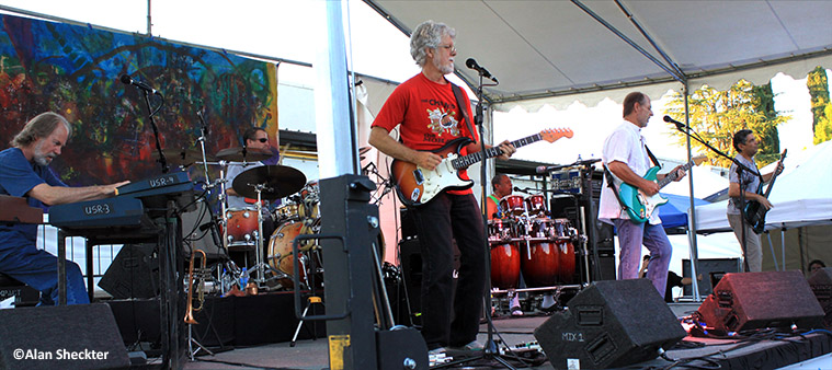 Little Feat | Chico, CA | photo by Alan Sheckter