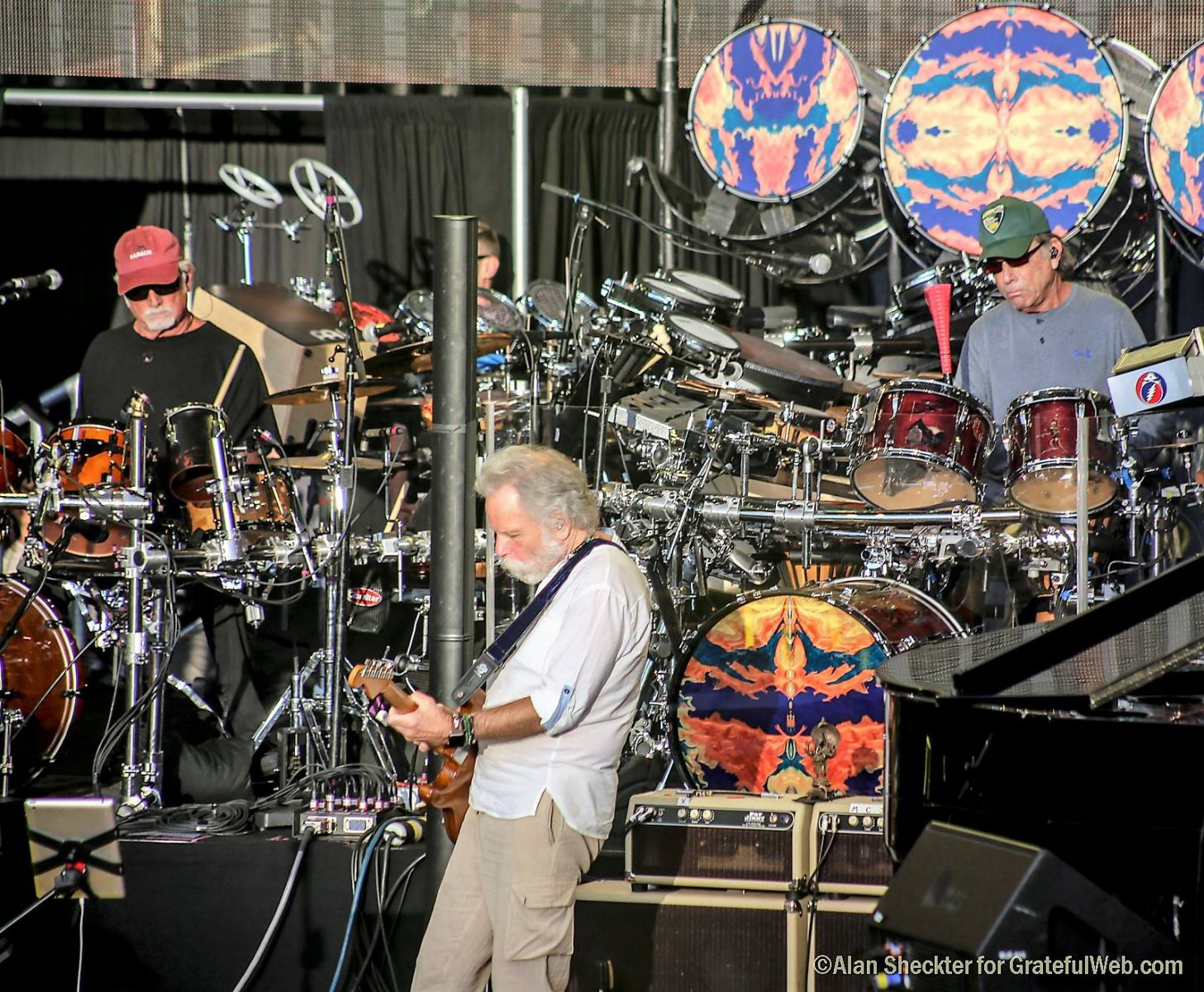Billy, Bobby, and Mickey | Dead and Company | photo by Alan Sheckter