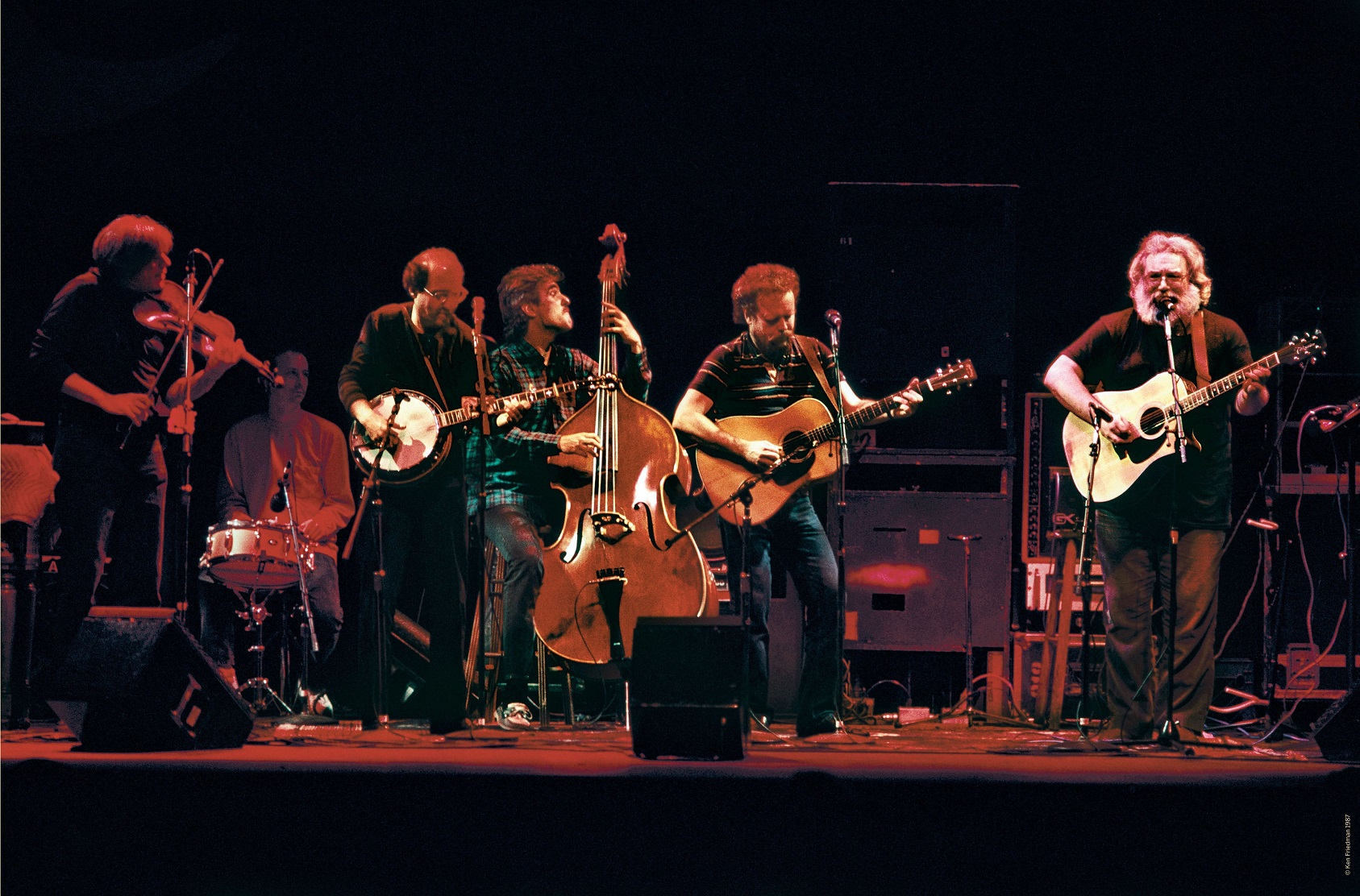 "Jerry Garcia Acoustic Band ""Almost Acoustic"" 