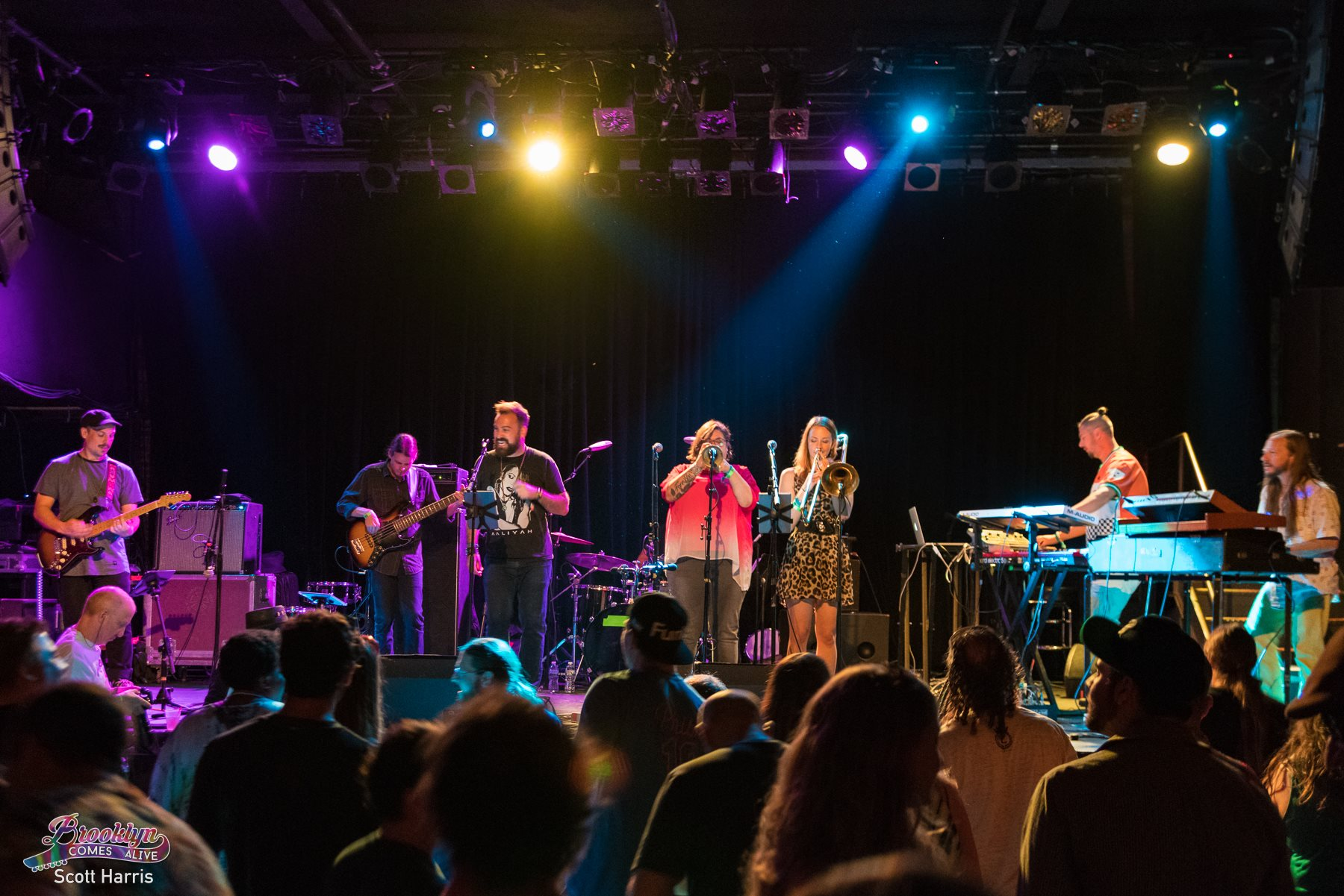 The Motet with Jennifer and Natalie | photo by Scott Harris