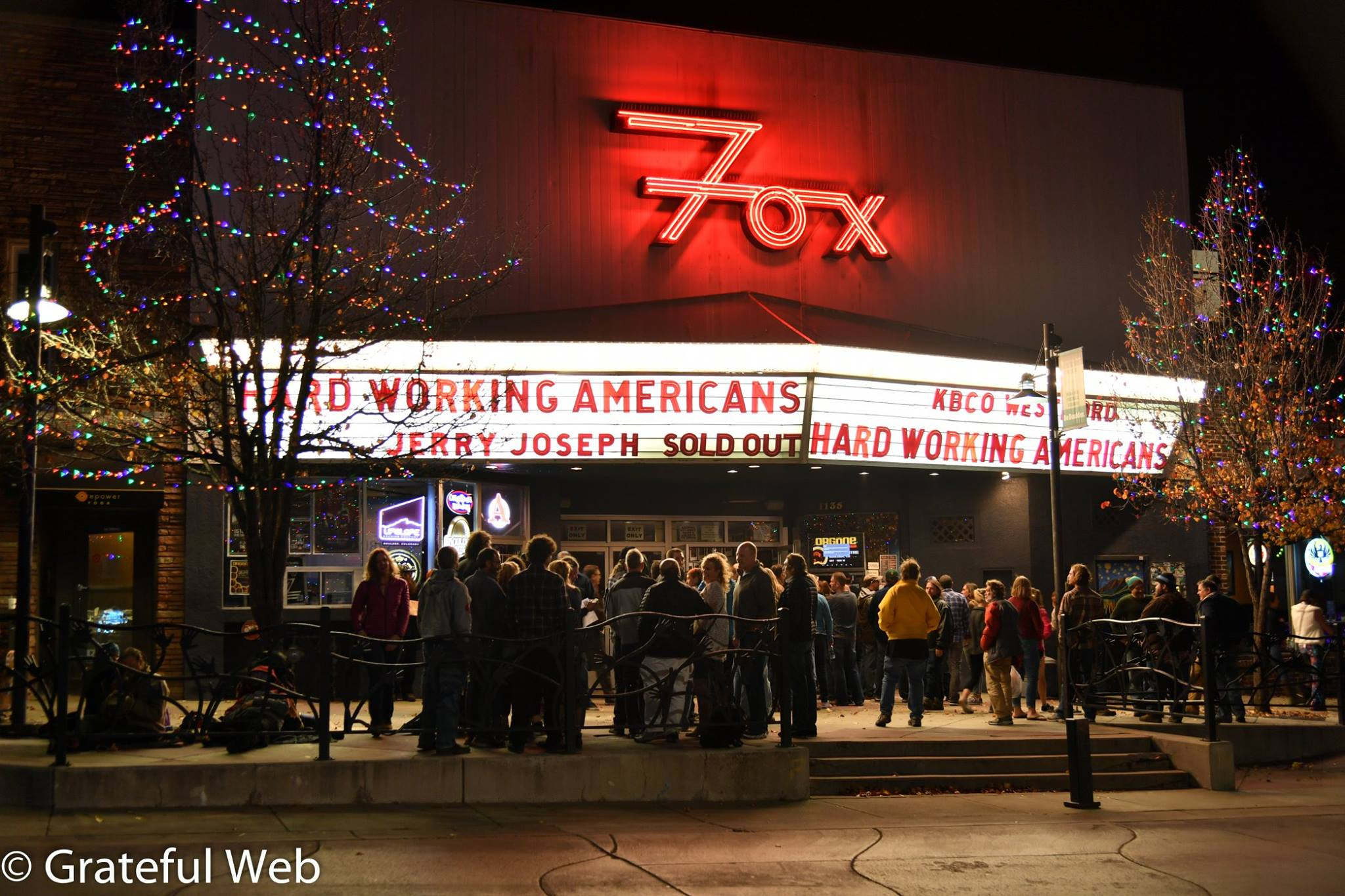 The Fox Theatre - Boulder, Colorado