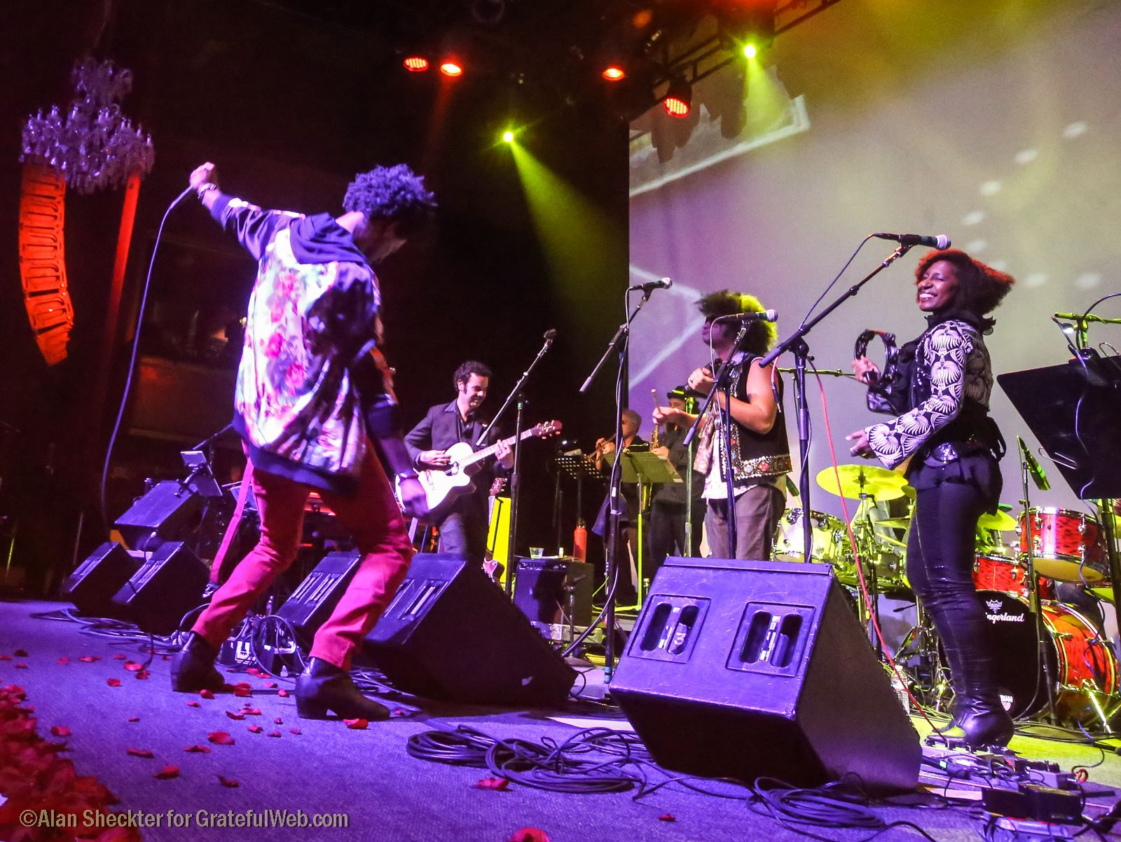"Ziek McCarter takes the lead on Sly & the Family Stone's ""Sing a Simple Song"" 