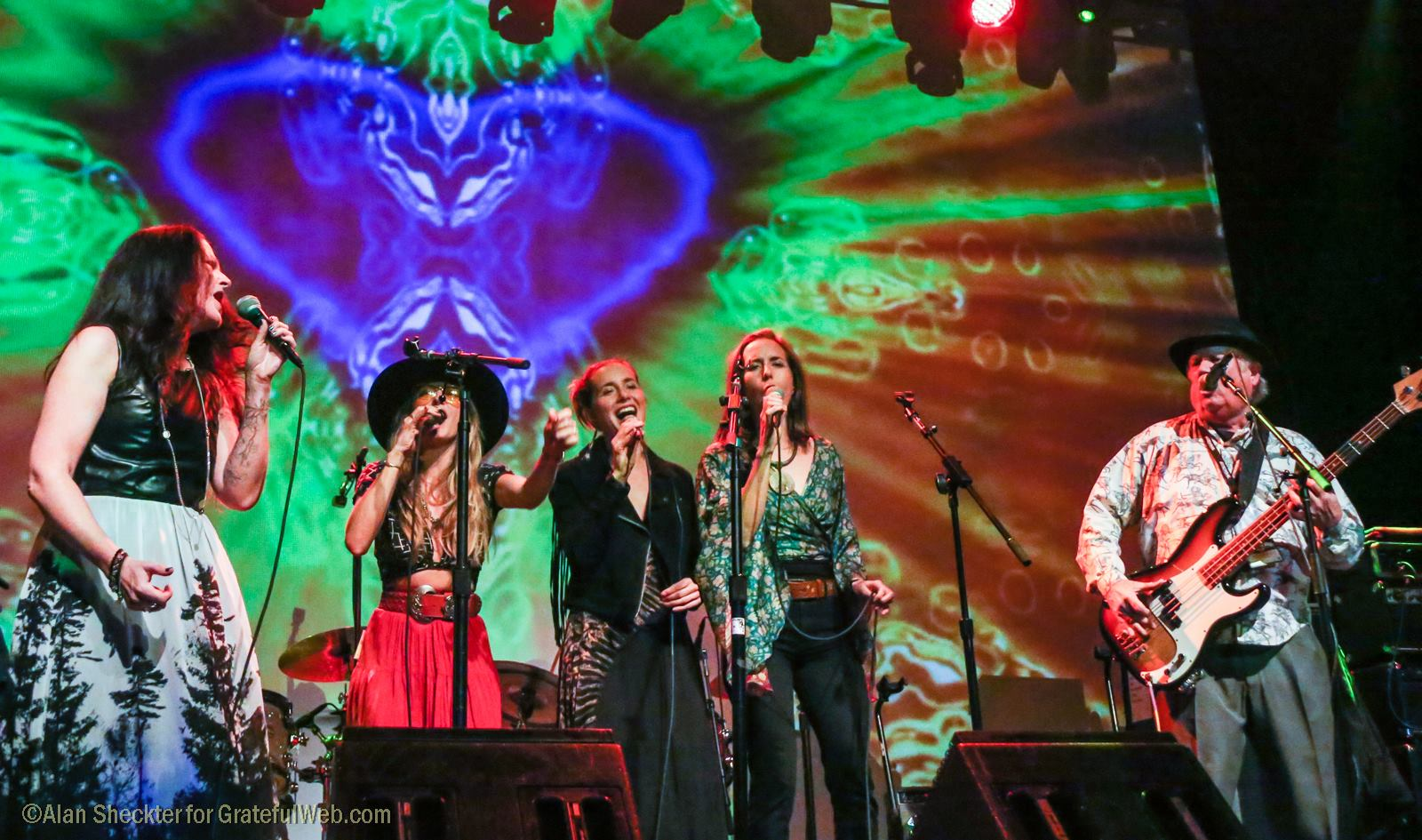 """Piece of My Heart"" with Darby Gould, the T Sisters and Peter Albin 