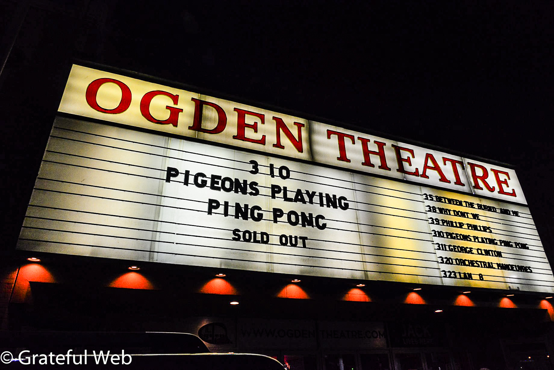 Pigeons Playing Ping Pong sold-out show in Denver!