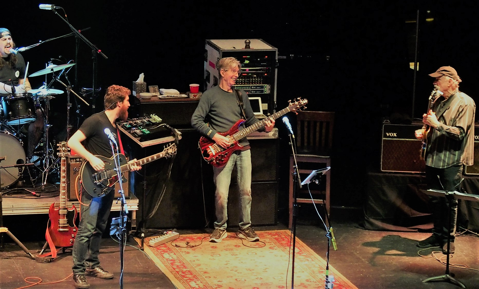 Alex Koford, Grahame Lesh, Phil Lesh and John Scofield | Captiol Theatre | March 15th, 2018