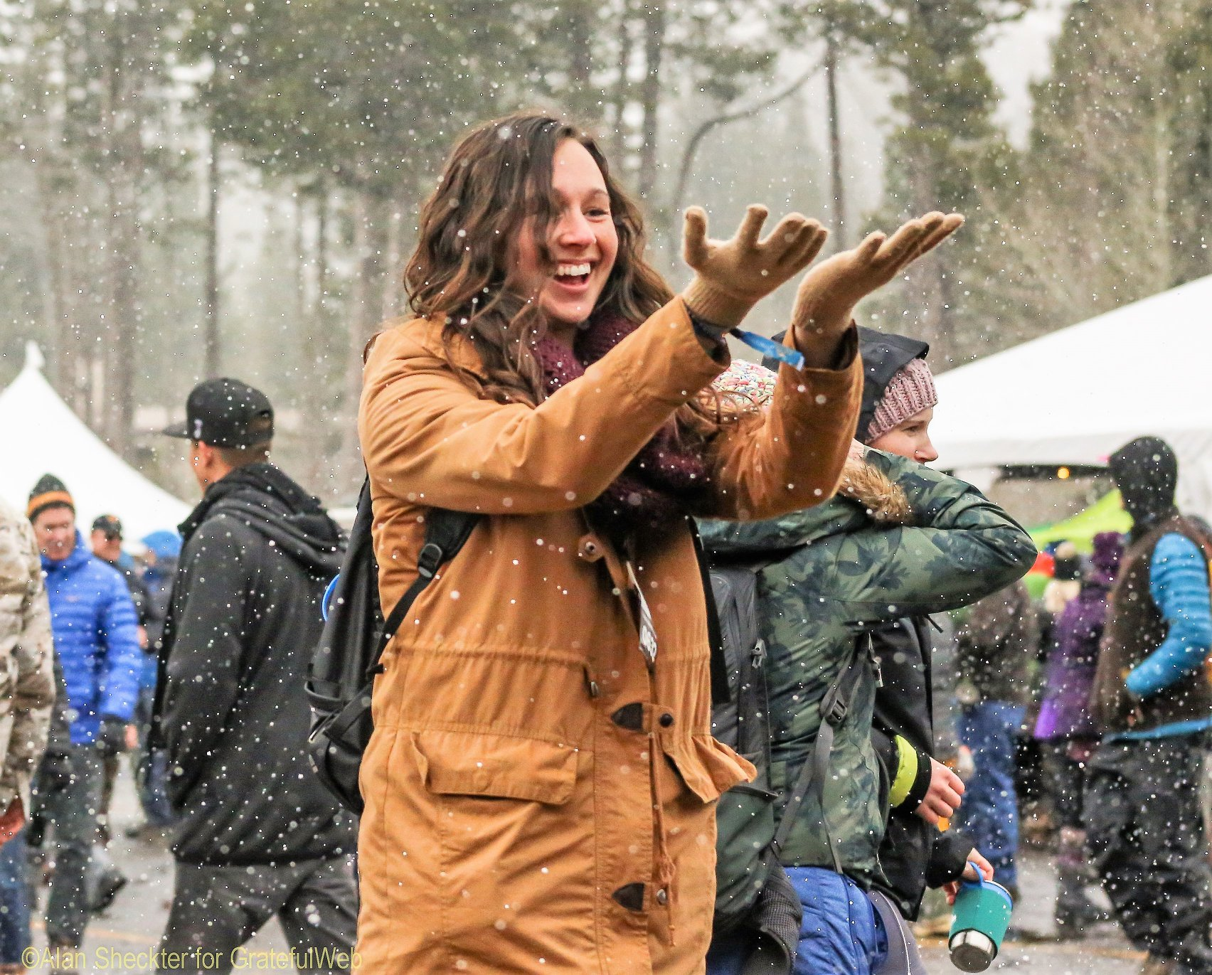 embracing the elements like only mountain folk can -- WinterWonderGrassTahoe