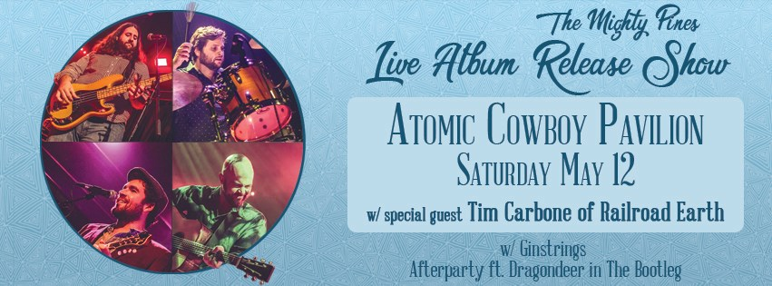 Timothy Carbone will join The Mighty Pines on May 12th for their Live Album Release Show!
