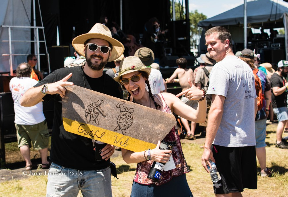 Chicago Farmer & his wife Kymber | Summer Camp Music Festival