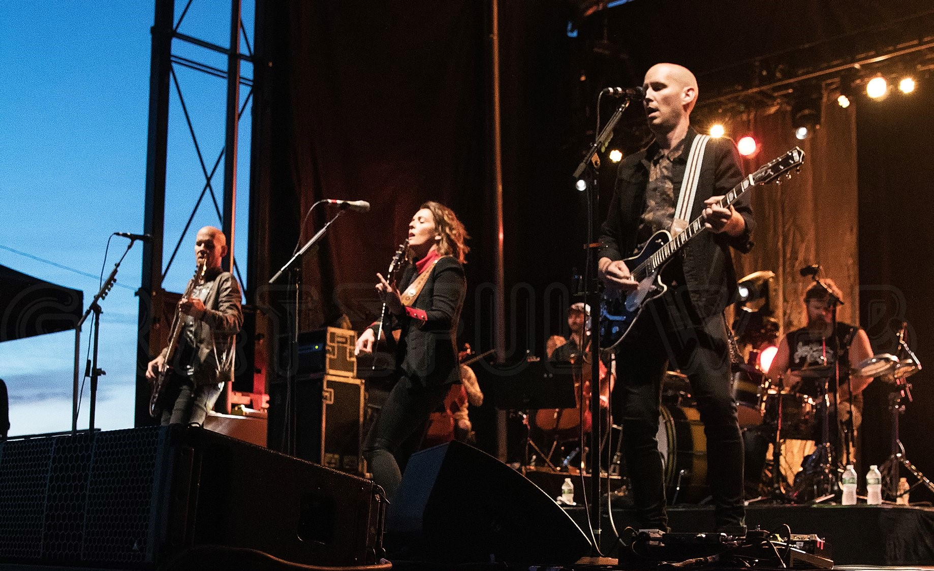 Brandi Carlile and her band | Thompson's Point