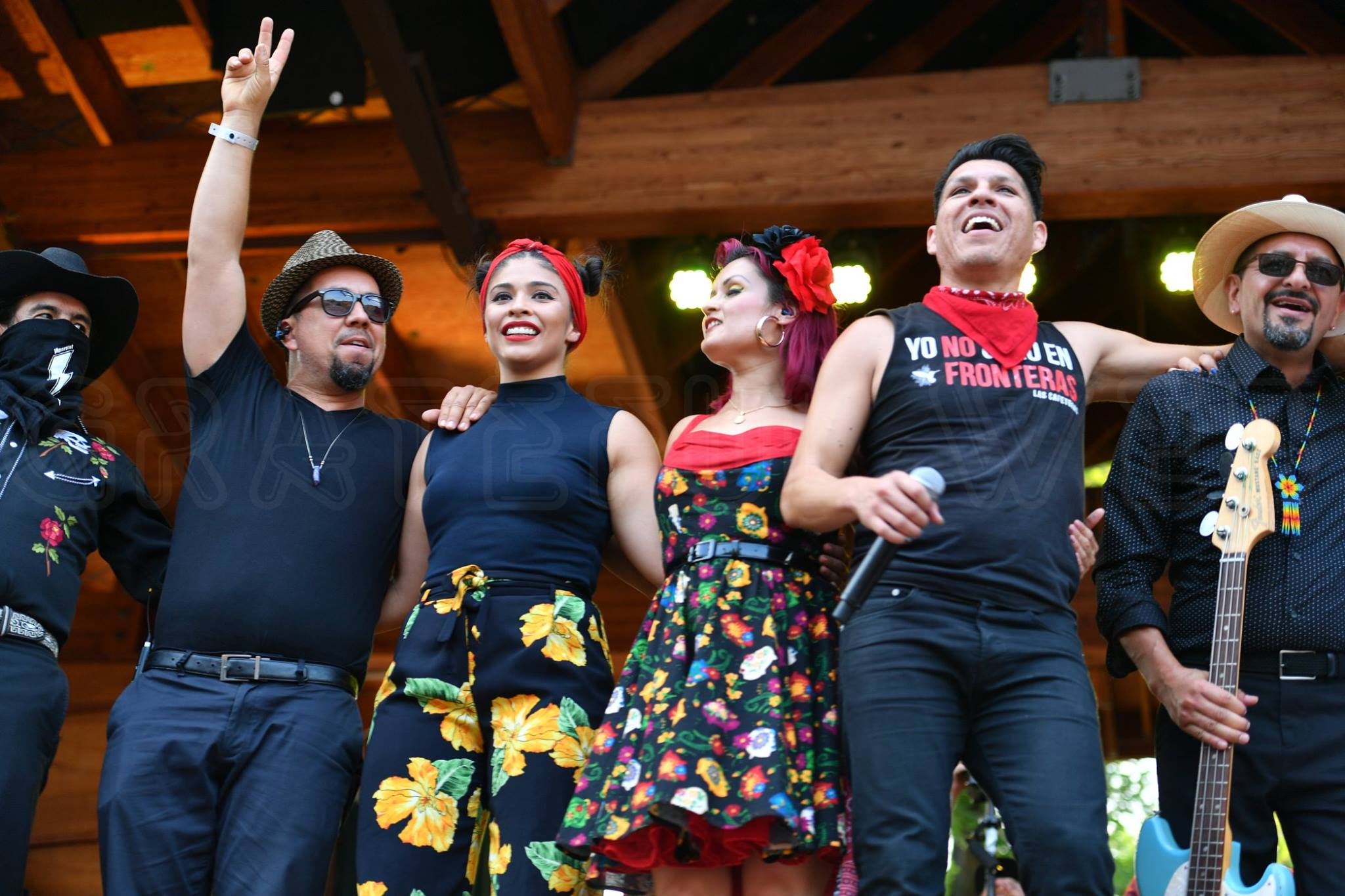 Las Cafeteras brought an important message and delightful music to Folks Fest 2018