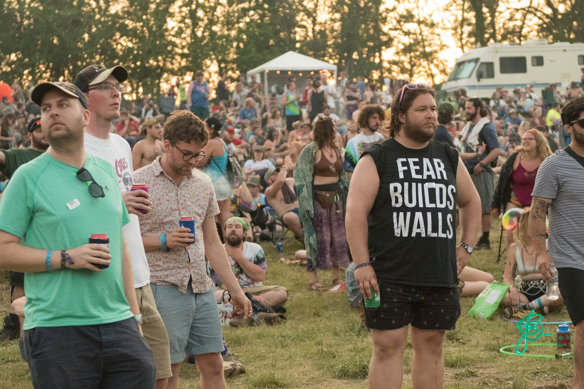 great shirt, brother! | Summer Camp Music Festival