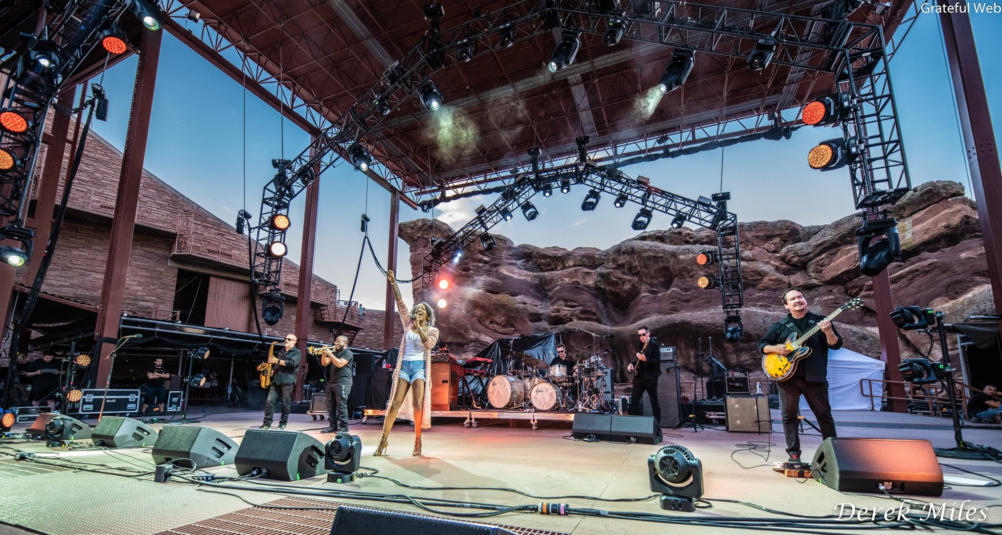 Erica Falls with Galactic | Red Rocks Amphitheatre