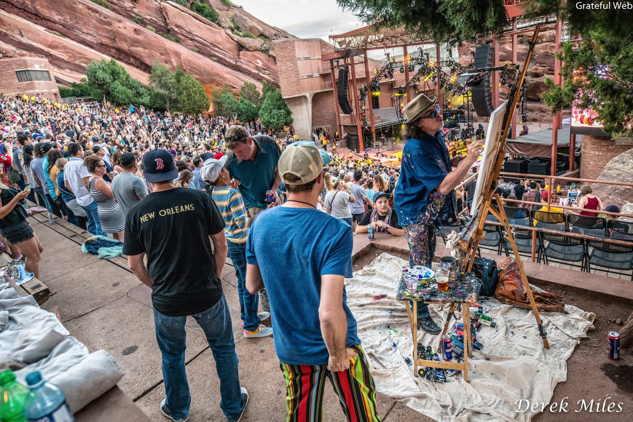 Scramble Campbell doing his thing @ Red Rocks