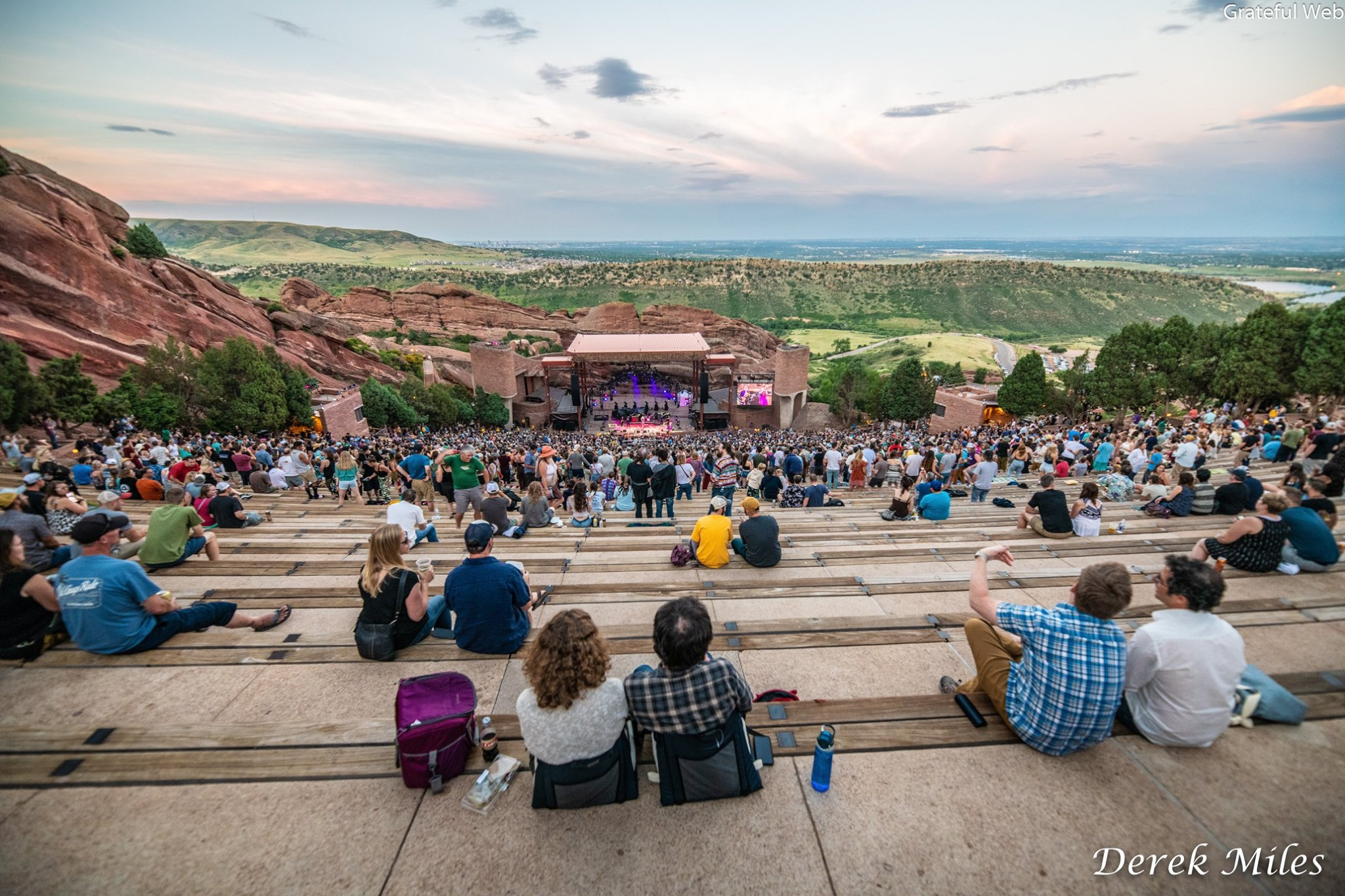 Red Rocks Amphitheatre | photos by Derek Miles