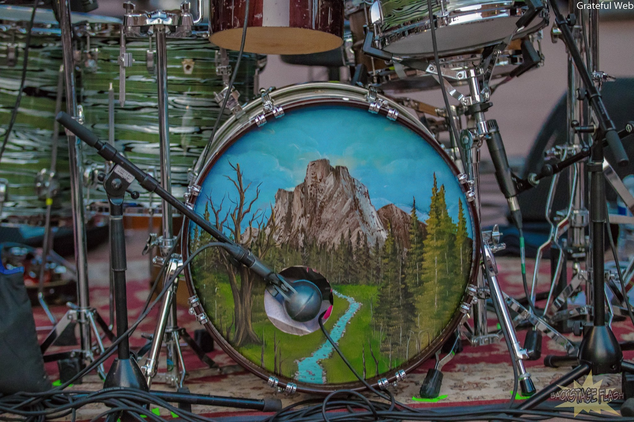 Joe Russo's drum kit