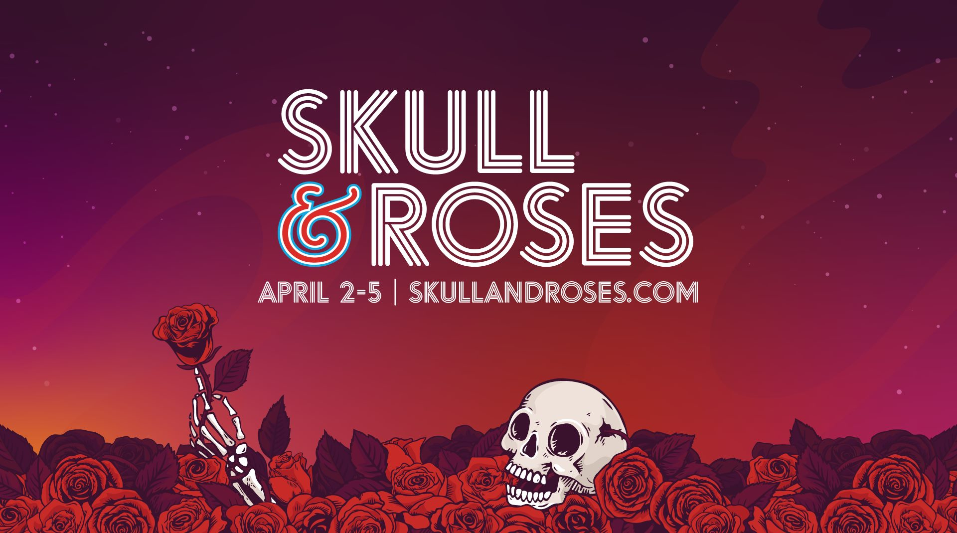 Skull & Roses Festival 2020 is only a month away!