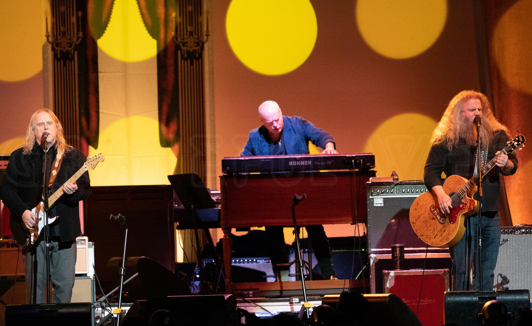 Warren, John Medeski and Jamey Johnson