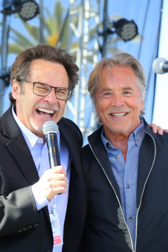 Dennis Miller & Don Johnson | photos by L. Paul Mann