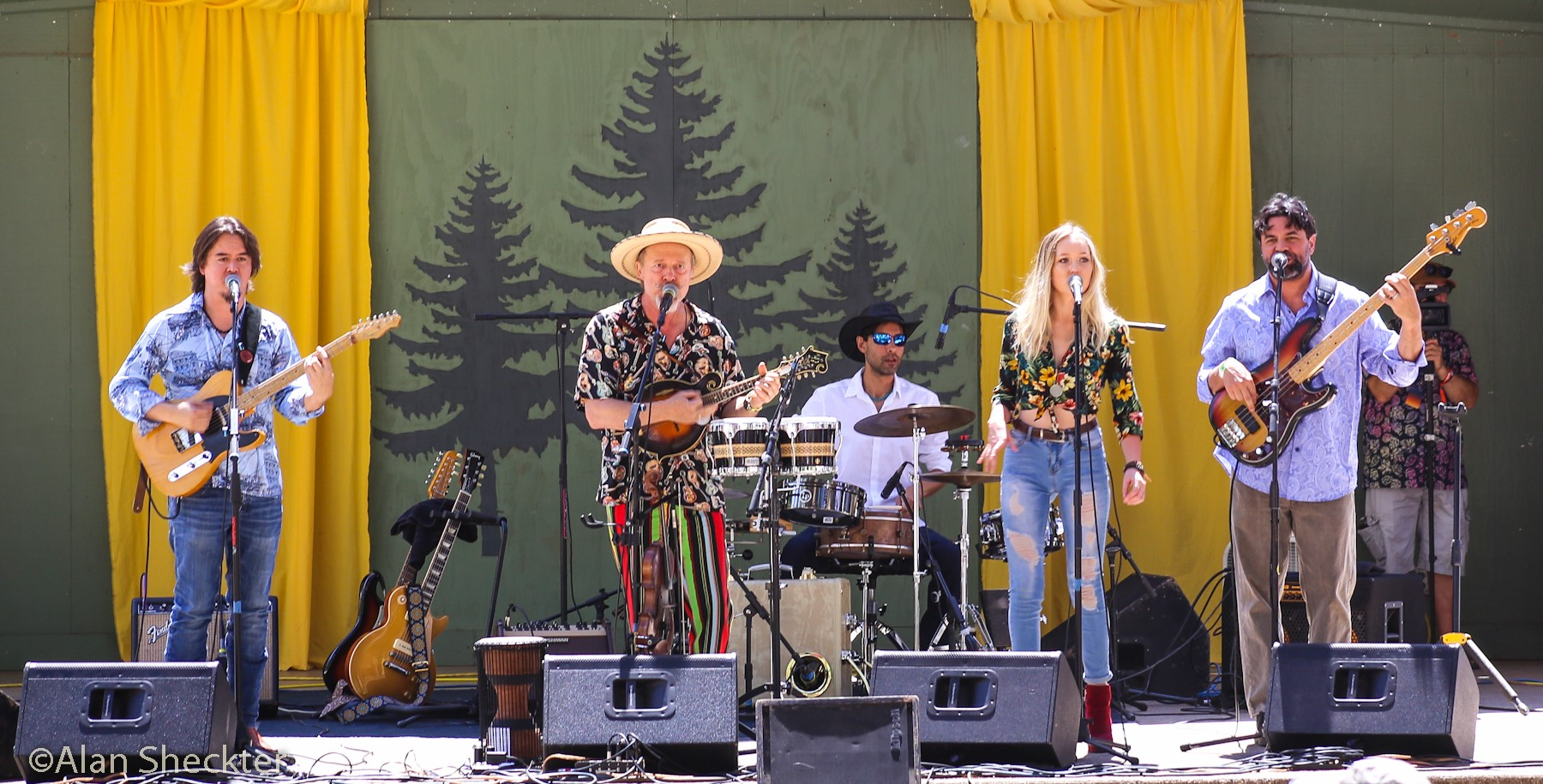 Joe Craven & the Sometimers, California WorldFest, July 14, 2018