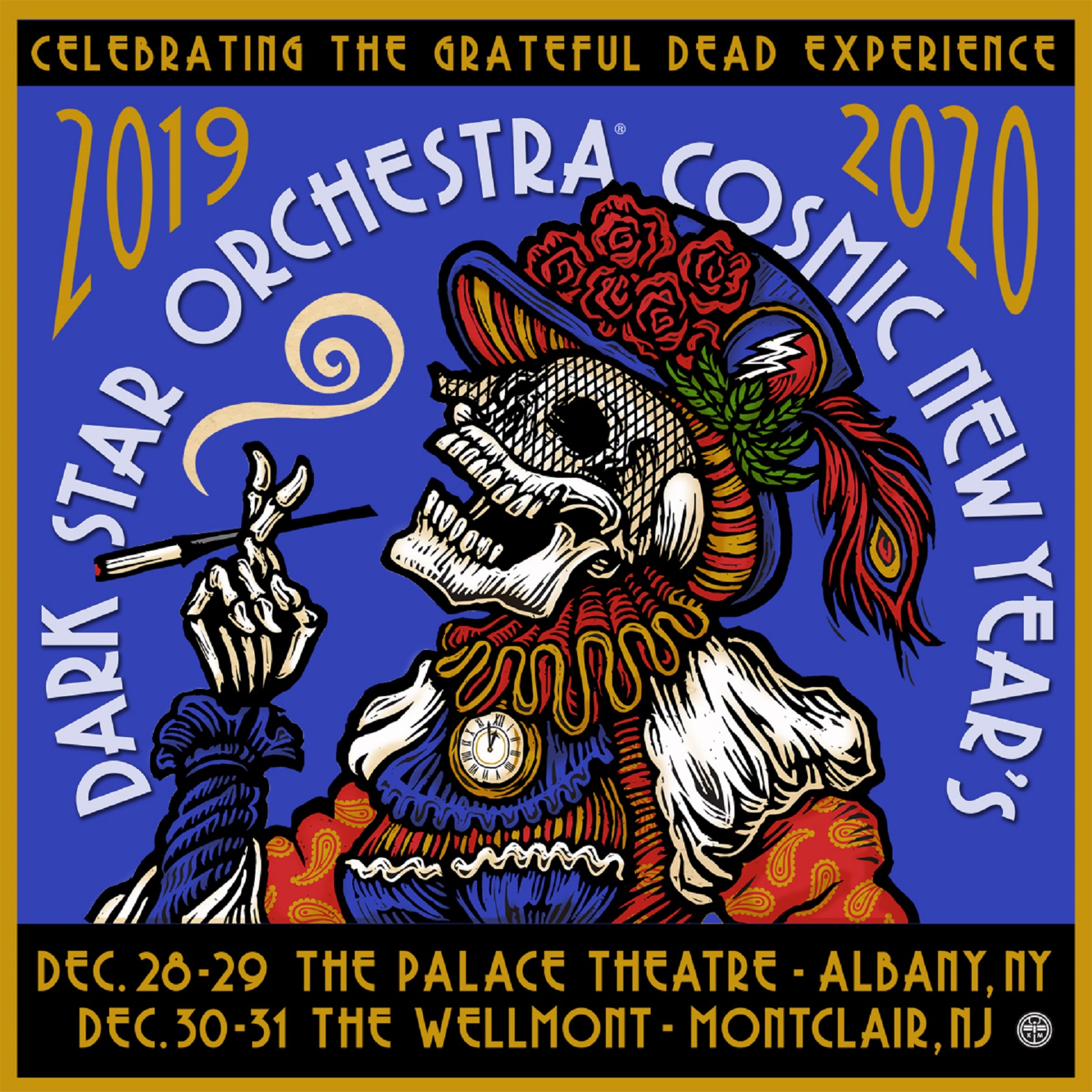 Dark Star Orchestra New Year's Eve Run 2019 ► 2020